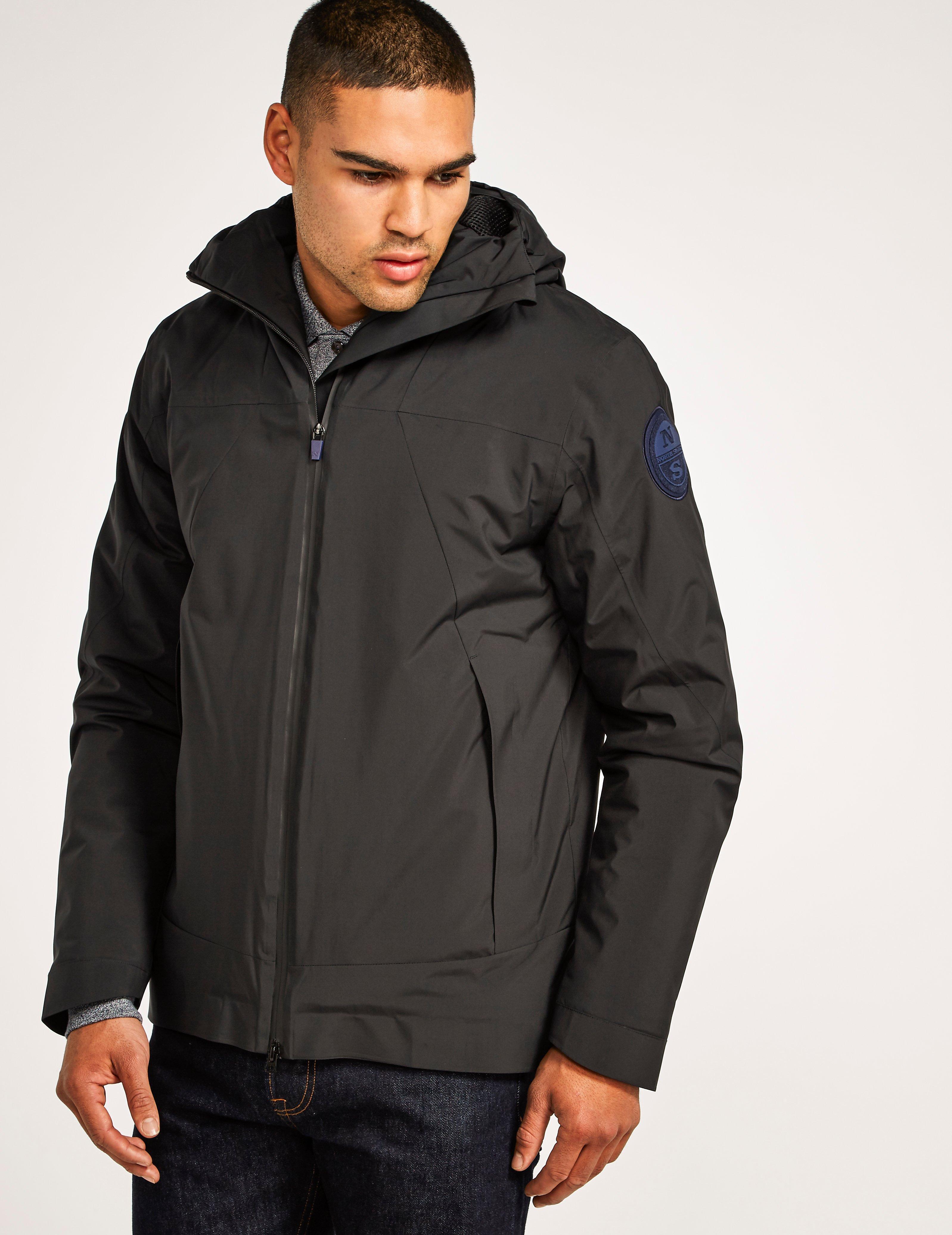 north sails scout jacket in black for men lyst. Black Bedroom Furniture Sets. Home Design Ideas