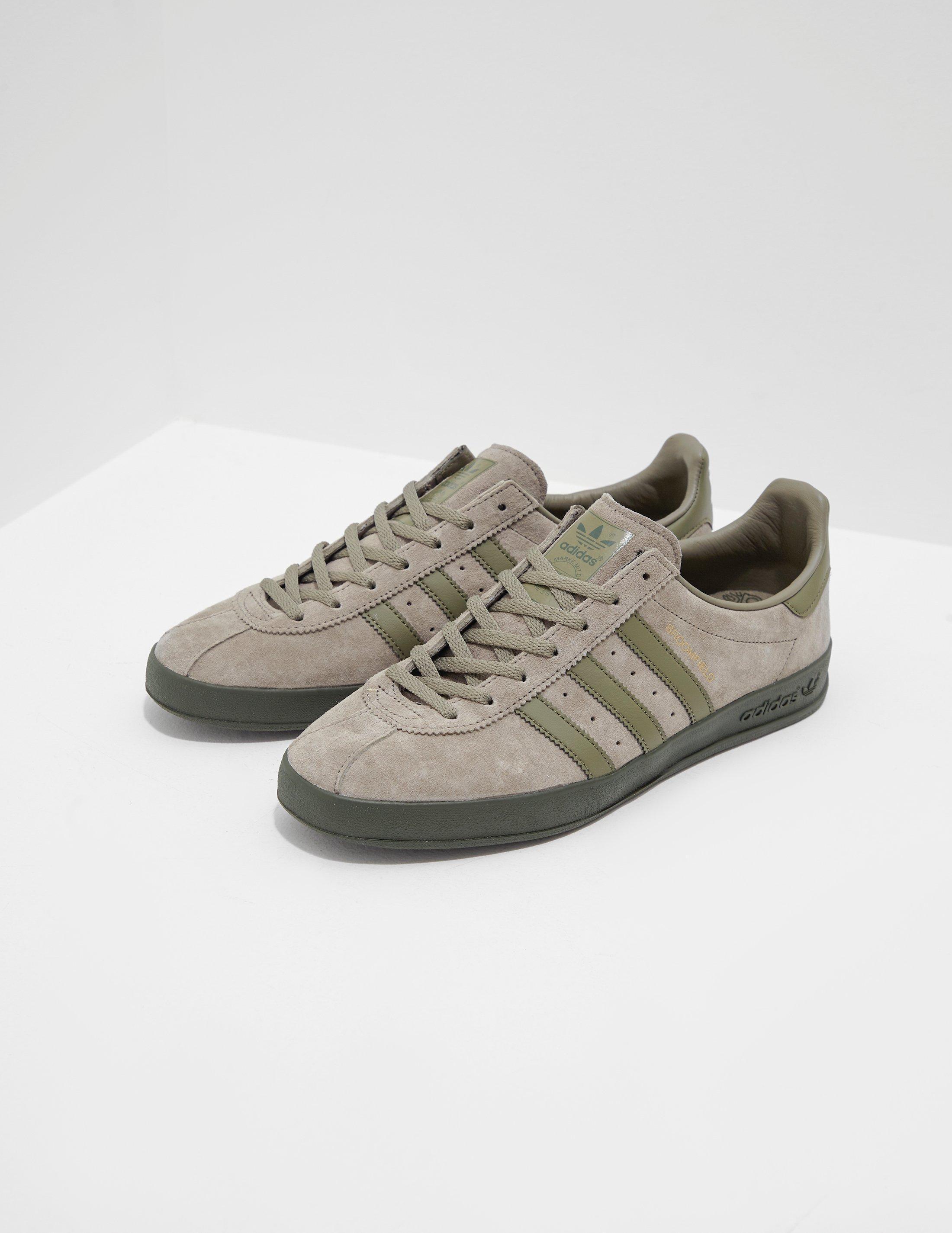 quality design 59d74 53398 adidas Originals Mens Broomfield Green in Green for Men - Lyst