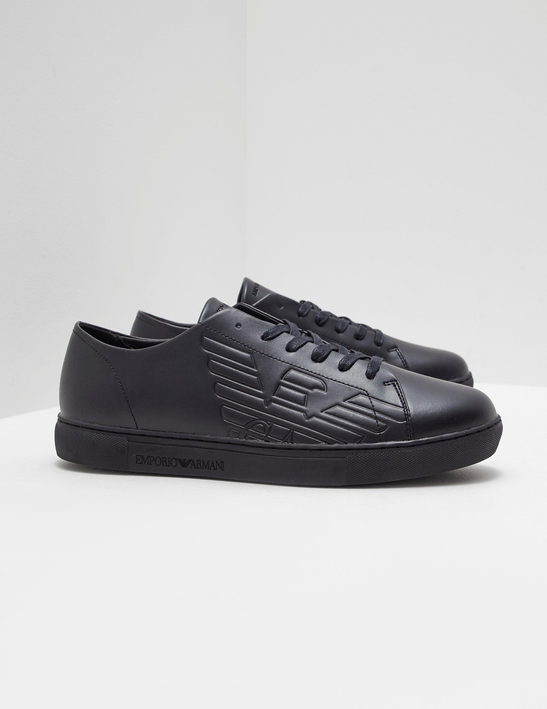 Armani Black Shoes Off 76 Buy