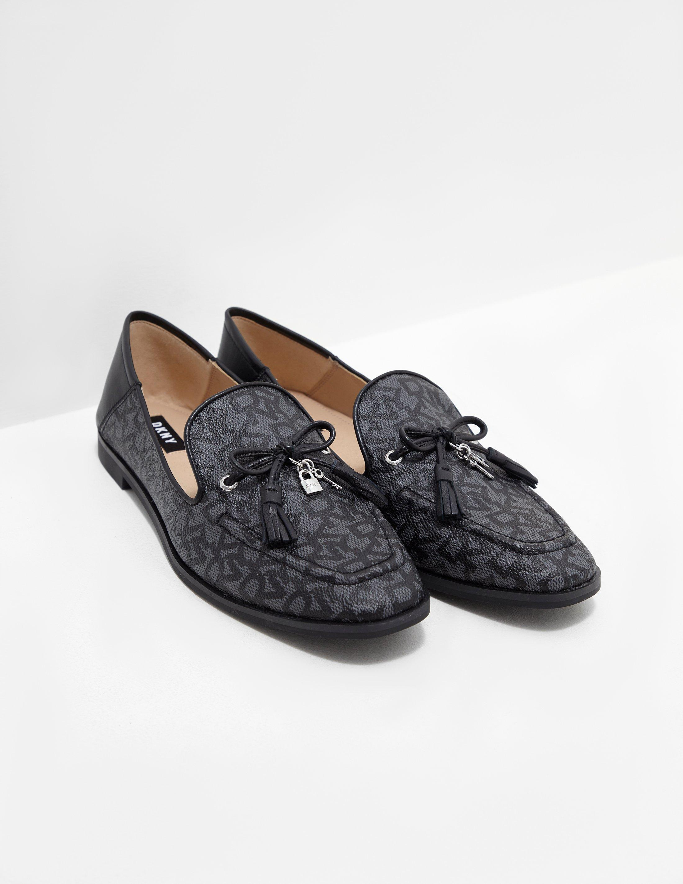 aabccf863 DKNY Laura Slip On Flats - Online Exclusive Black in Black - Lyst