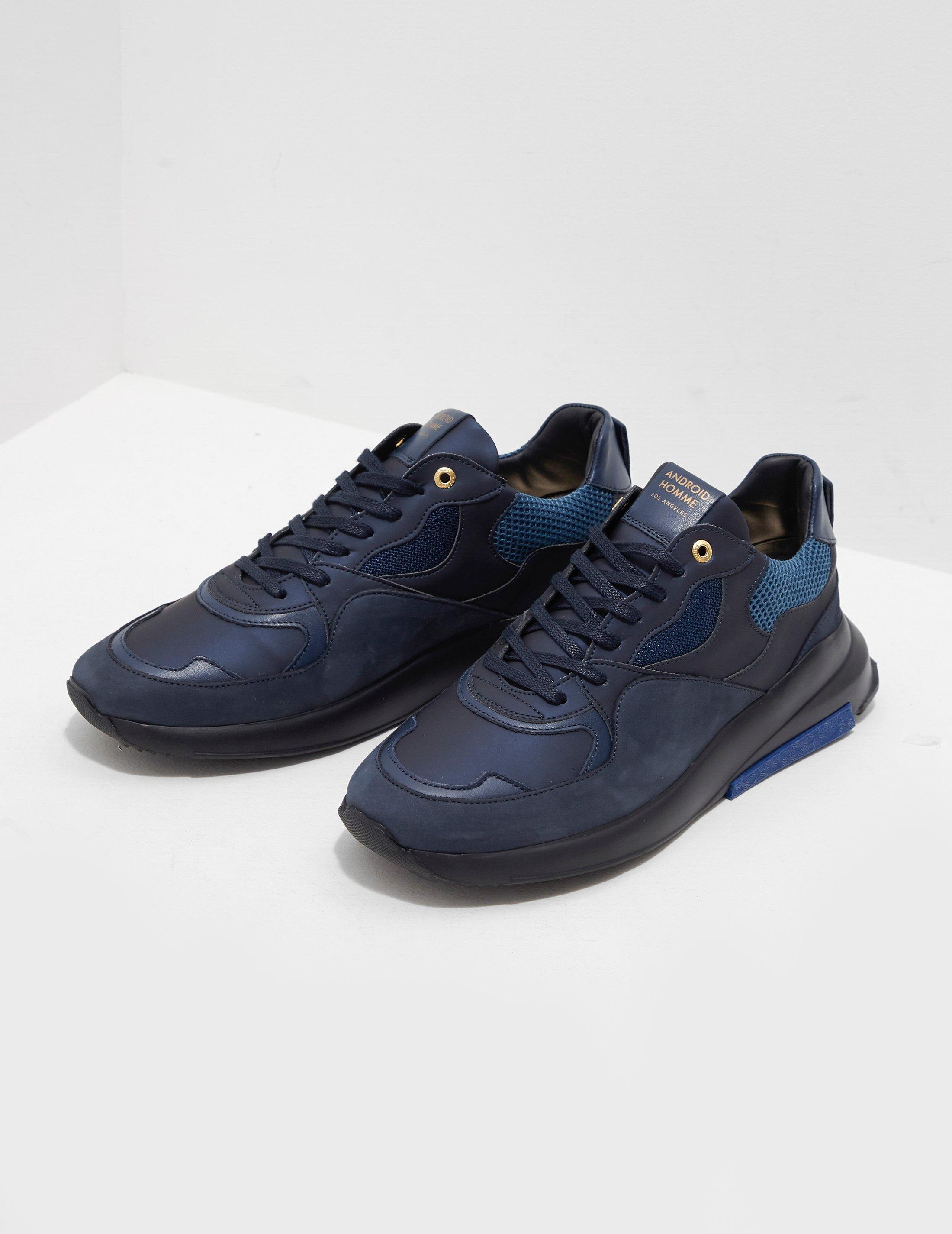 Android Homme Suede Malibu Blue for Men