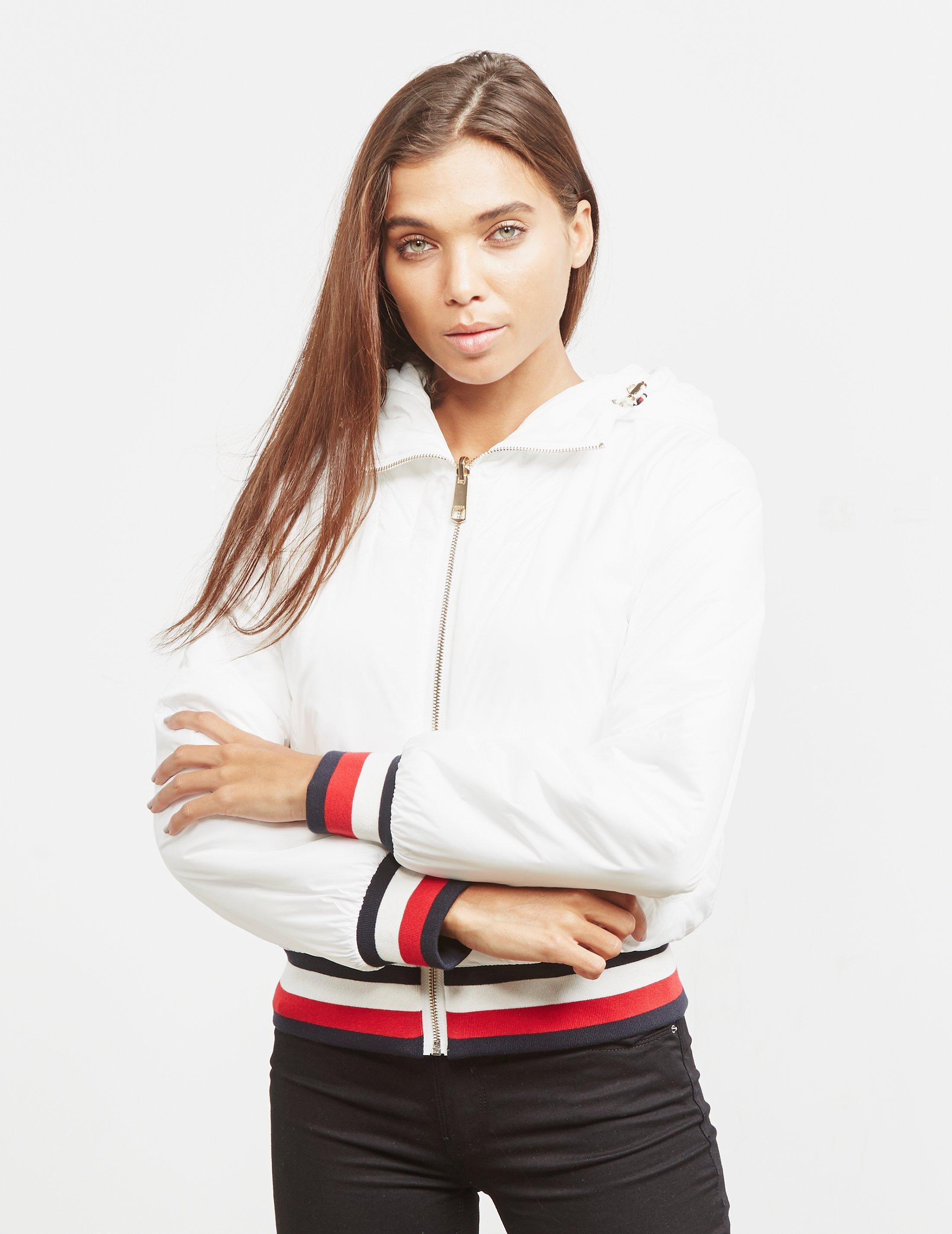 def3246bf Tommy Hilfiger Annabel Terry Reversible Bomber Jacket White - Save ...