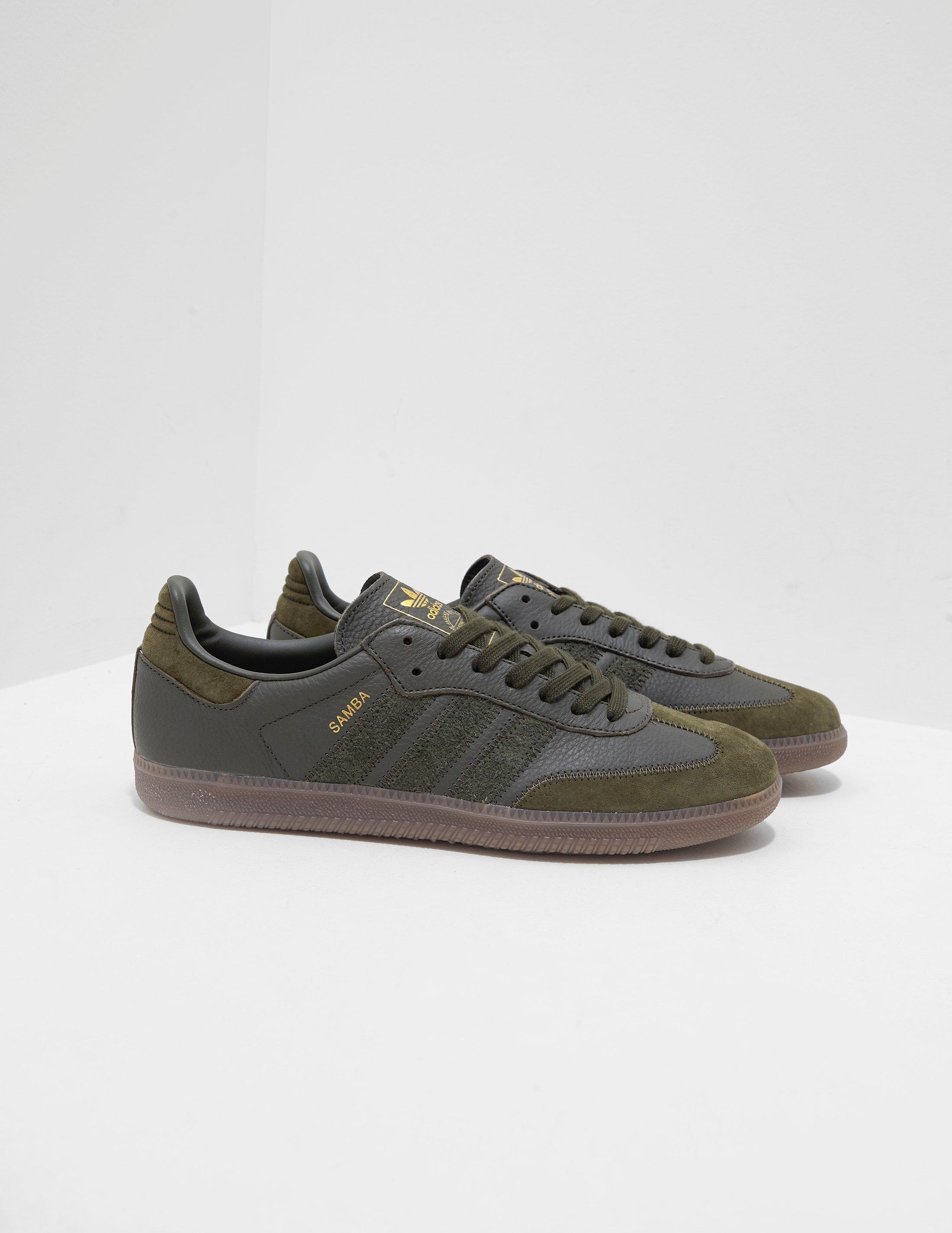 adidas Originals Samba Leather Og Olive