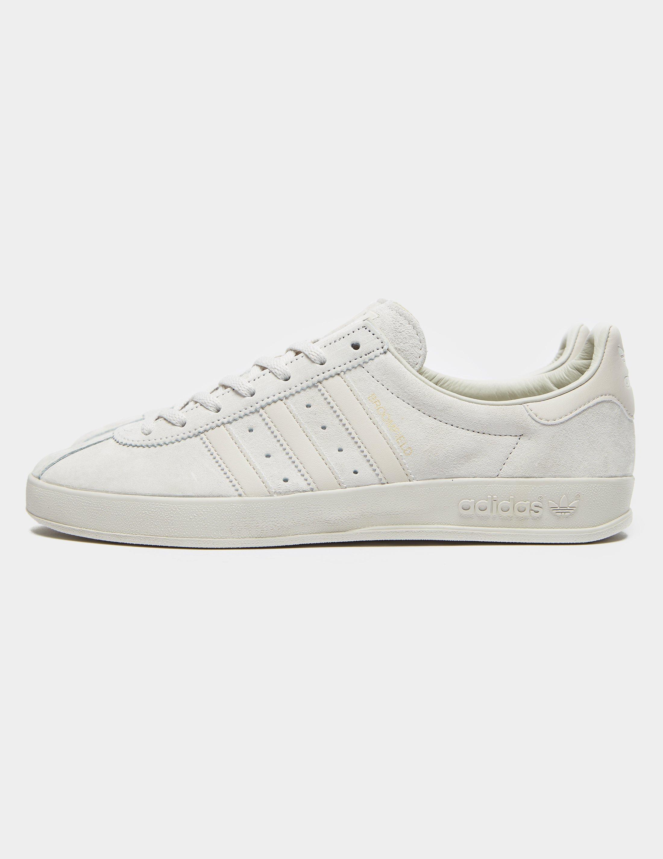 adidas Originals Suede Broomfield White