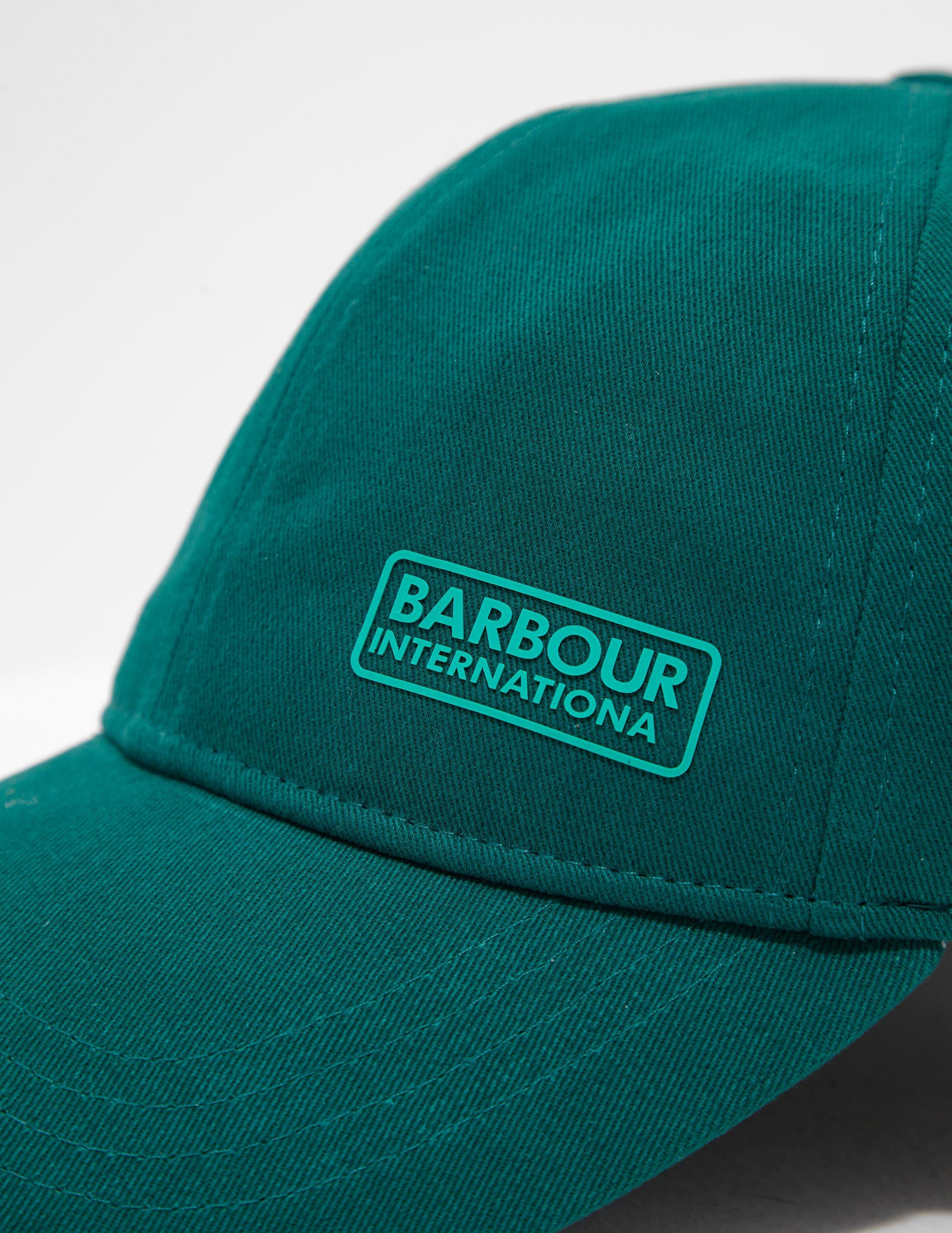 33c68268824c6 Barbour Mens International Norton Drill Cap Green in Green for Men - Lyst