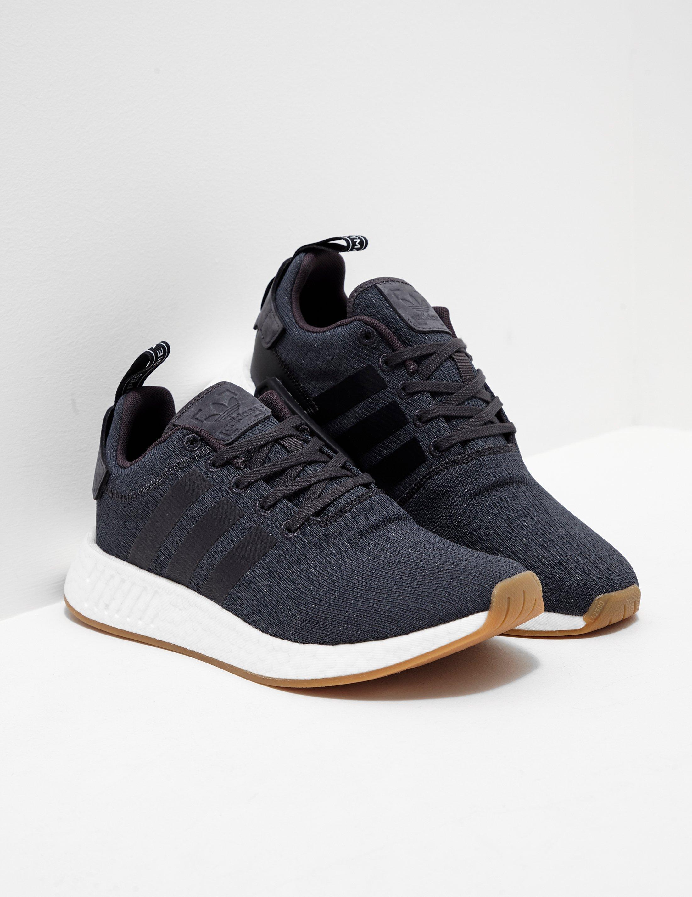 official photos ad6a2 1d639 Adidas Originals Gray Mens Nmd R2 Grey/white for men