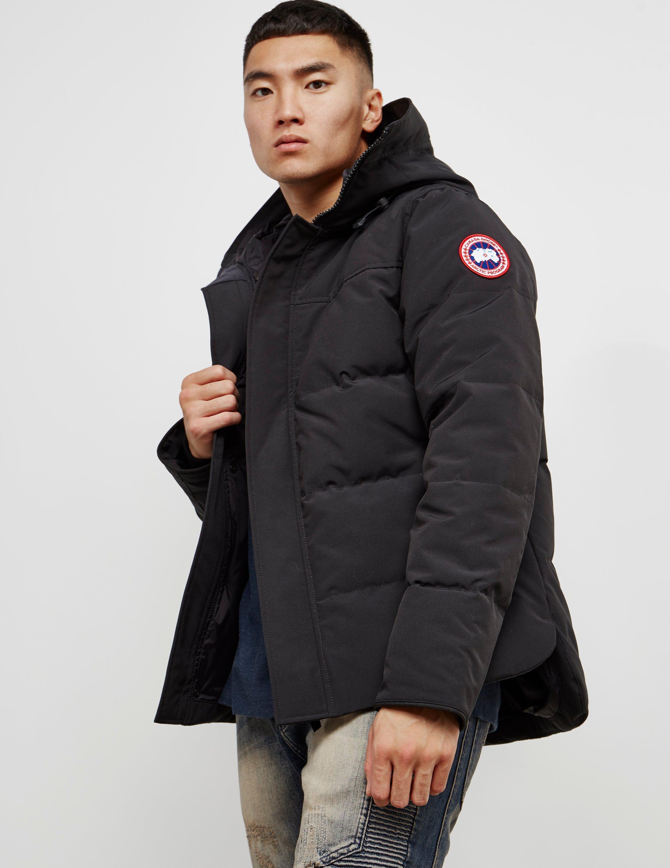 276035863994 Canada Goose Macmillan Padded Parka Jacket Black in Black for Men ...