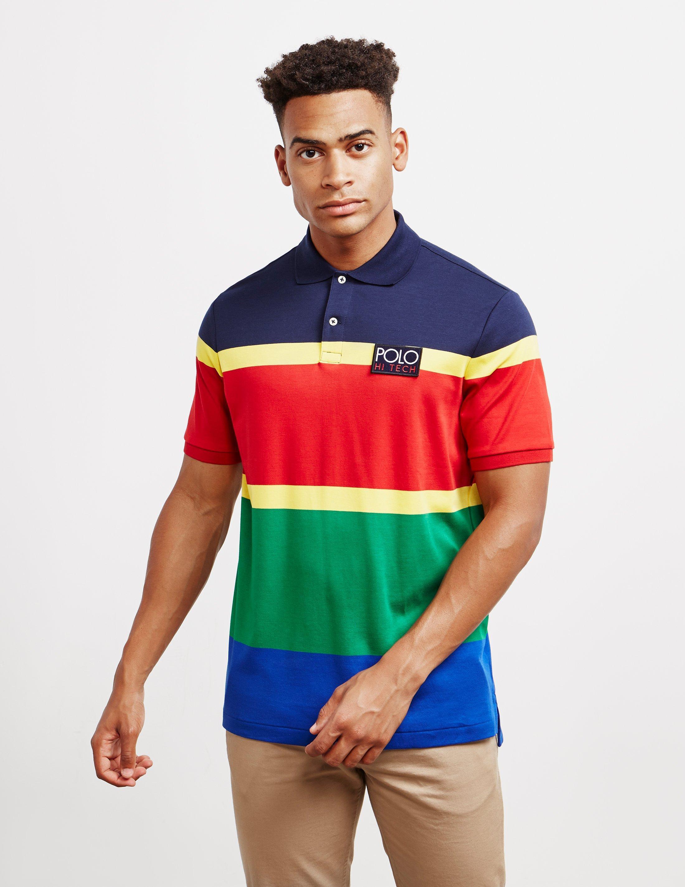3f0d2996602 Polo Ralph Lauren Hi Tech Short Sleeve Polo Shirt Red in Red for Men ...