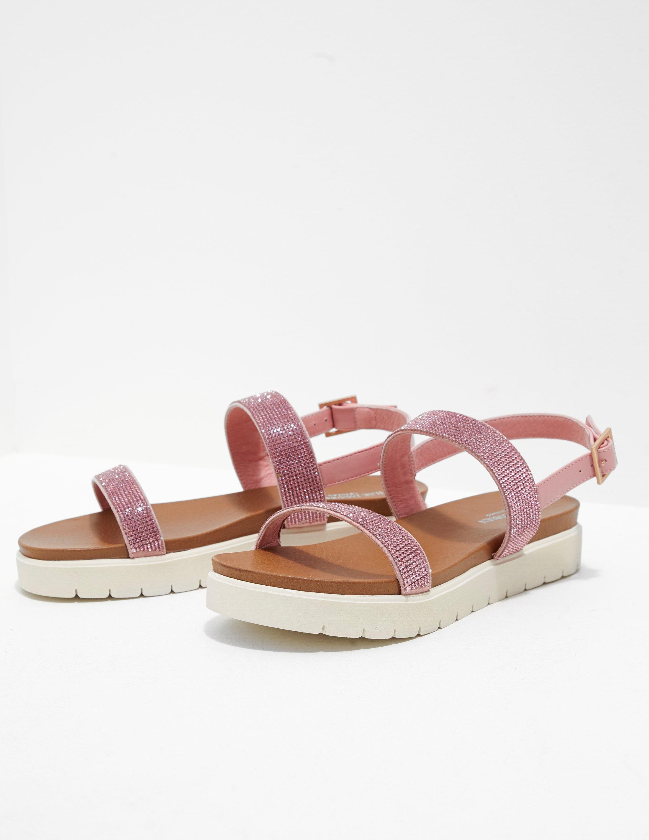 eb6eaa96b868 Ilse Jacobsen Womens Diamante Strap Sandals Pink in Pink - Lyst