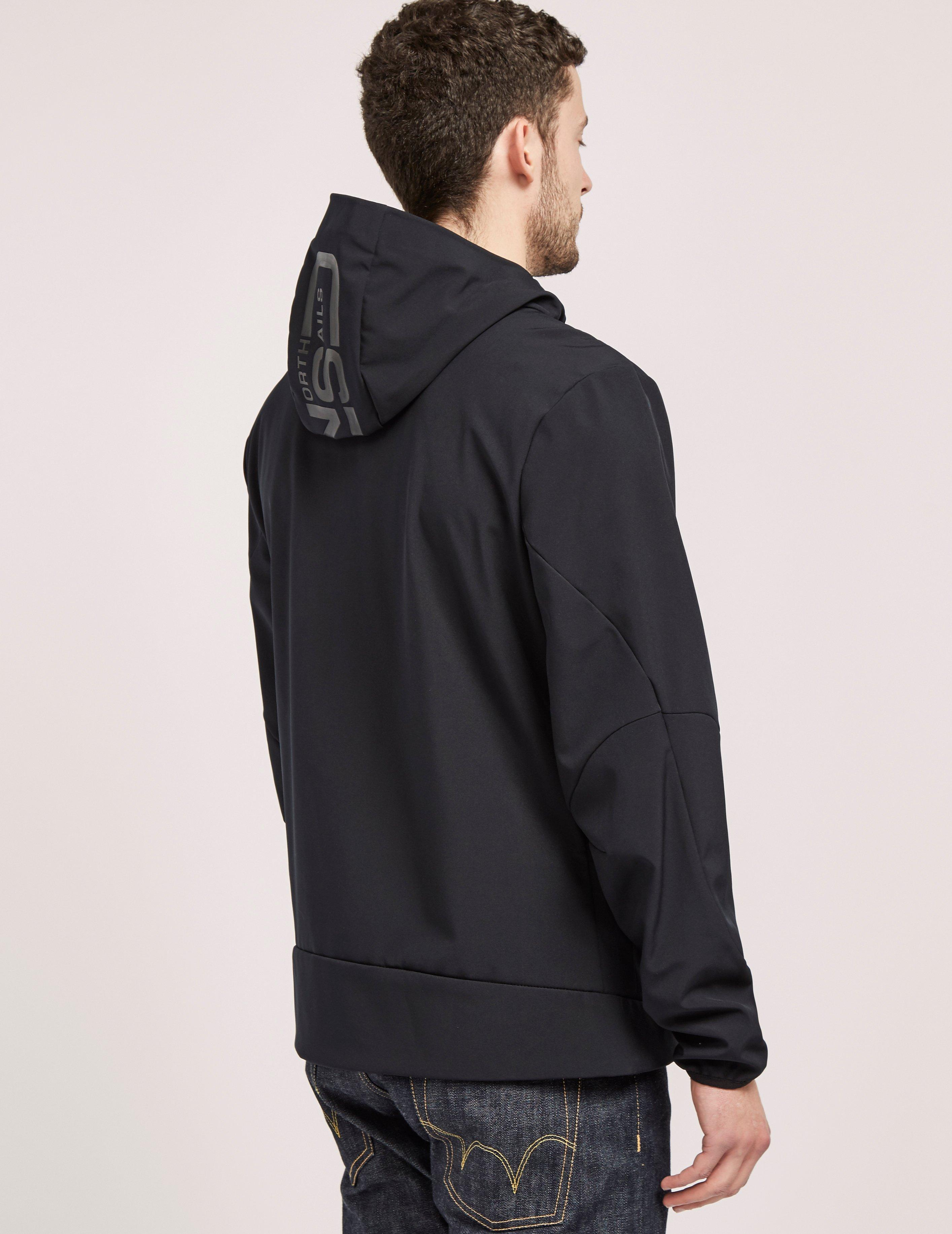 North Sails Full Zip Light Jacket in Black for Men