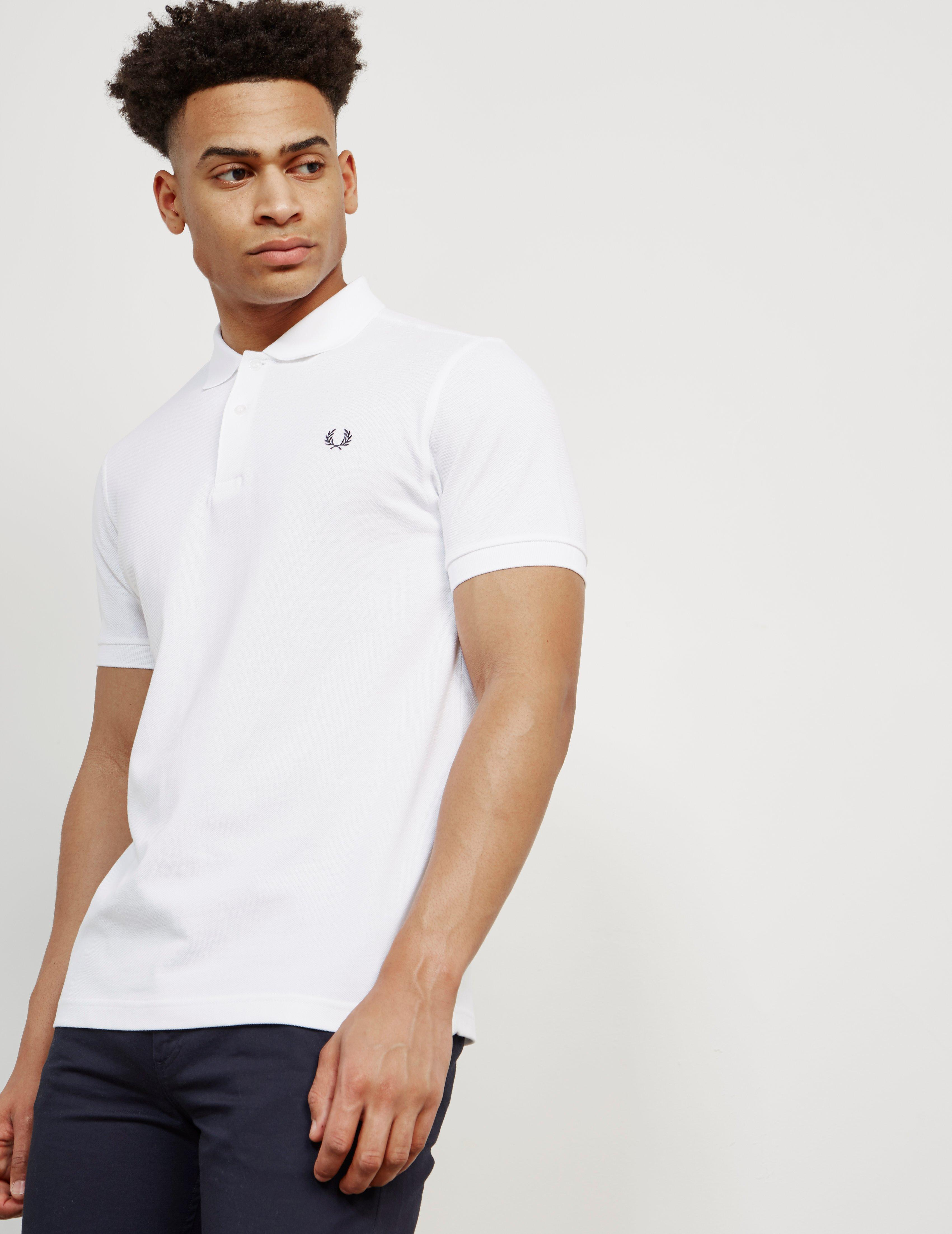 a21716099 Lyst - Fred Perry Mens M6000 Short Sleeve Polo Shirt White in White ...