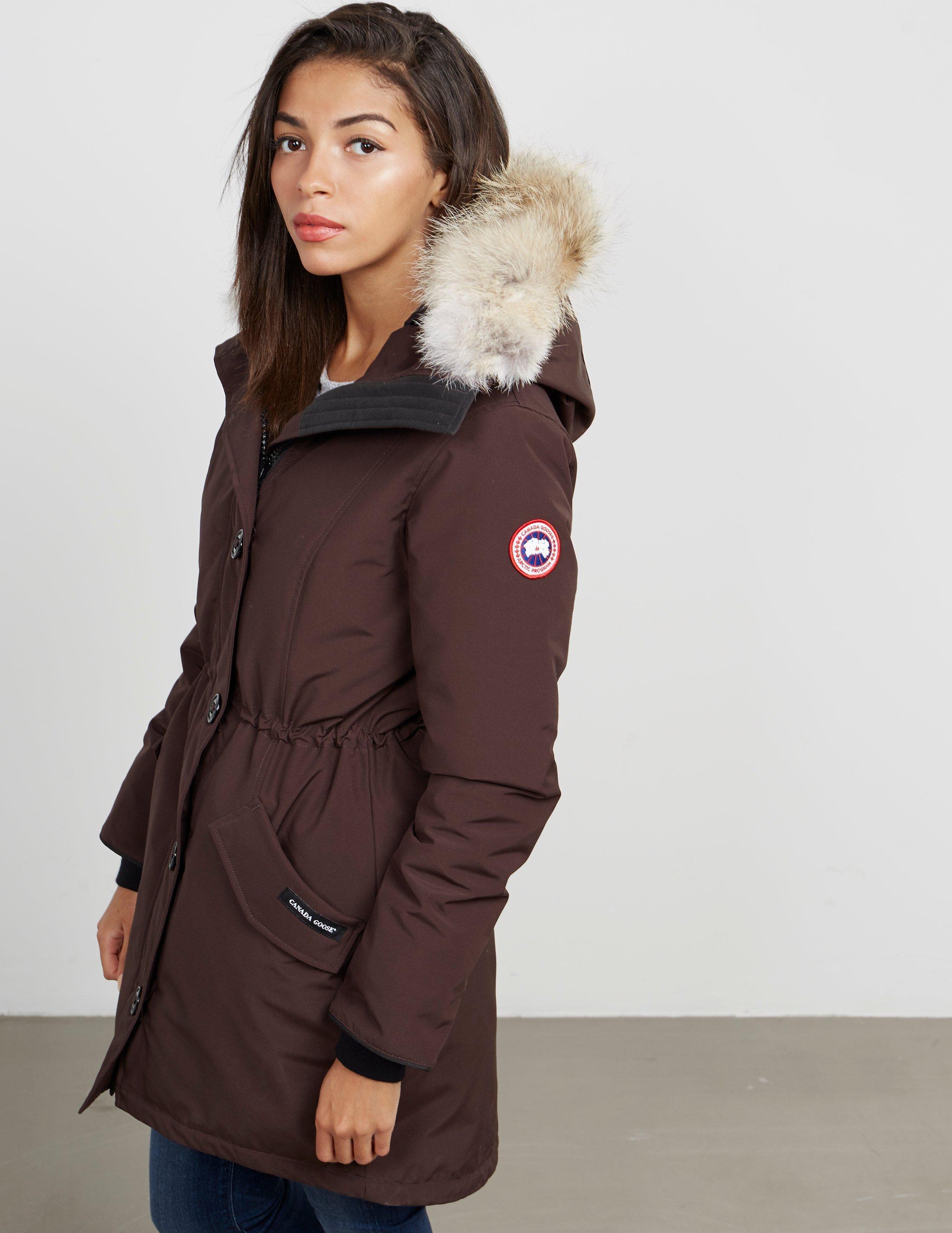 brown canada goose jacket