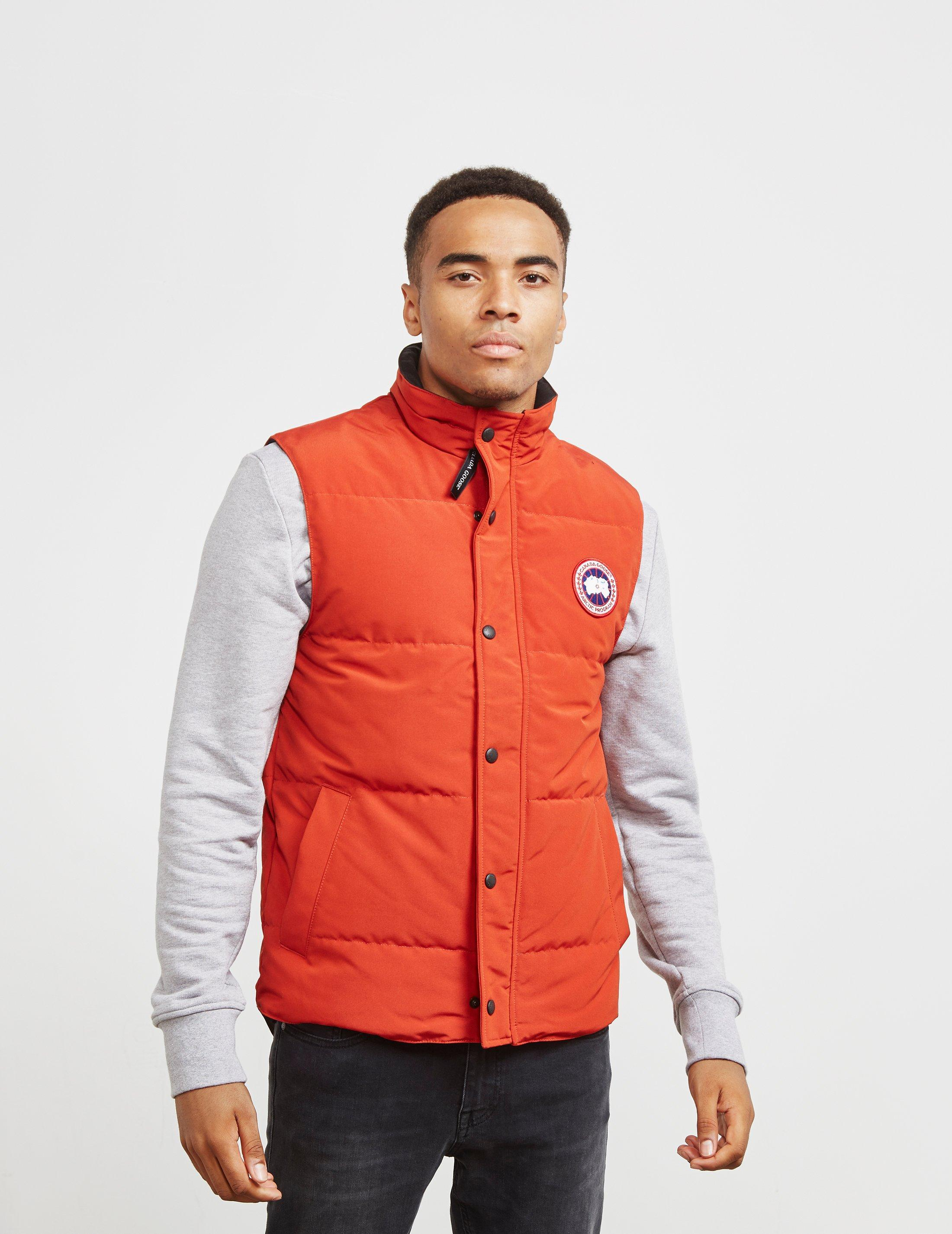 dc0f055ccbd35d Lyst - Canada Goose Garson Slim-fit Quilted Shell Down Gilet in ...