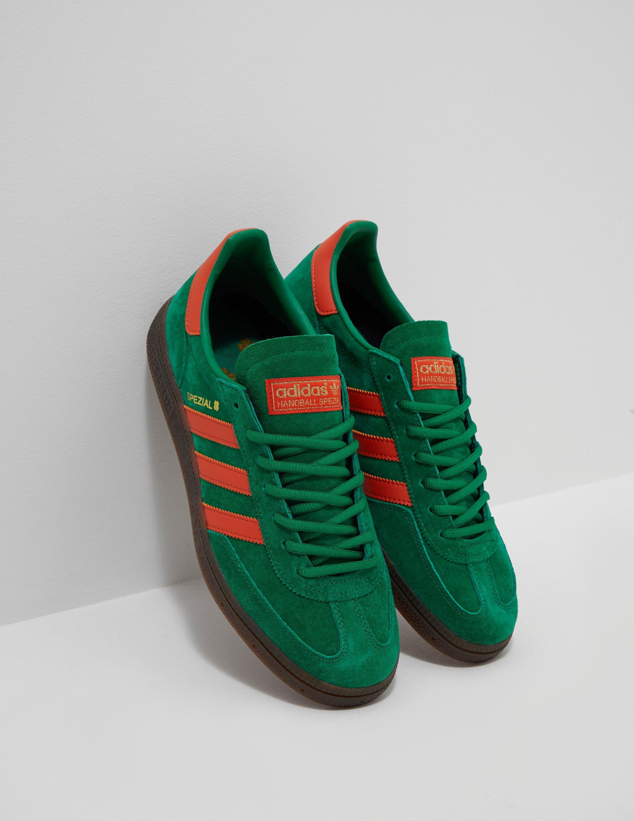 the best attitude 55ac7 ba520 adidas Originals. Men s Handball Spezial Green