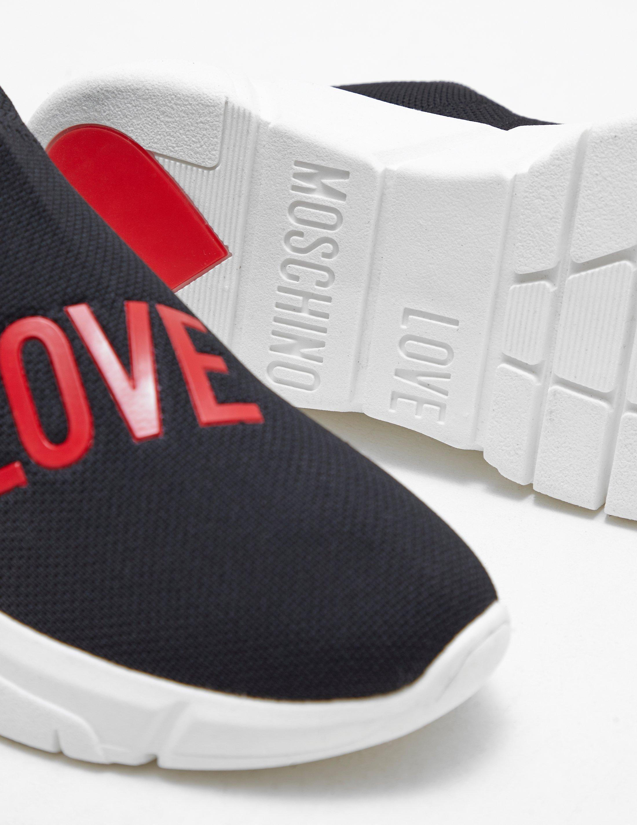 love moschino womens trainers