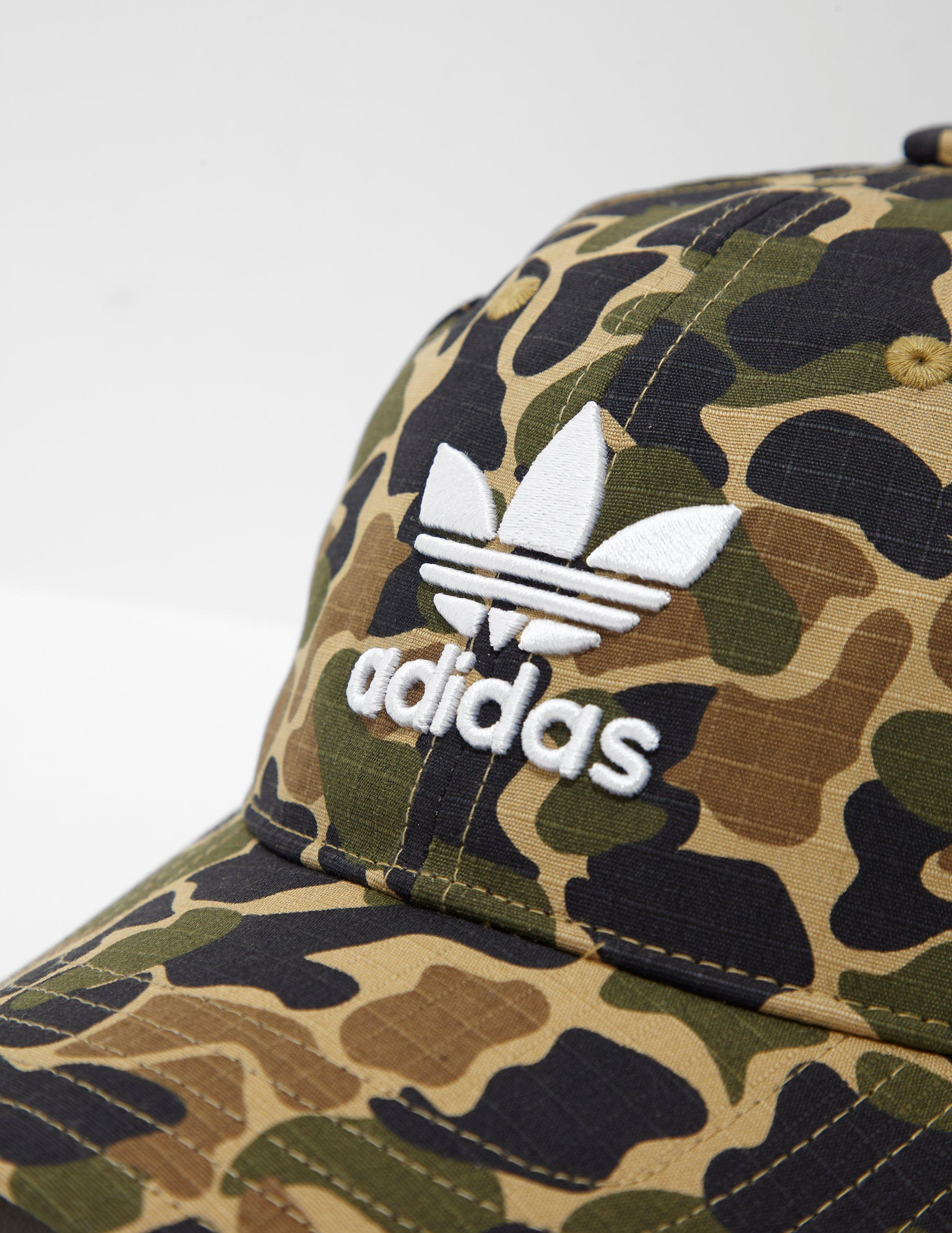 superior quality best supplier fashion style Mens Trefoil Classic Cap Camo/green