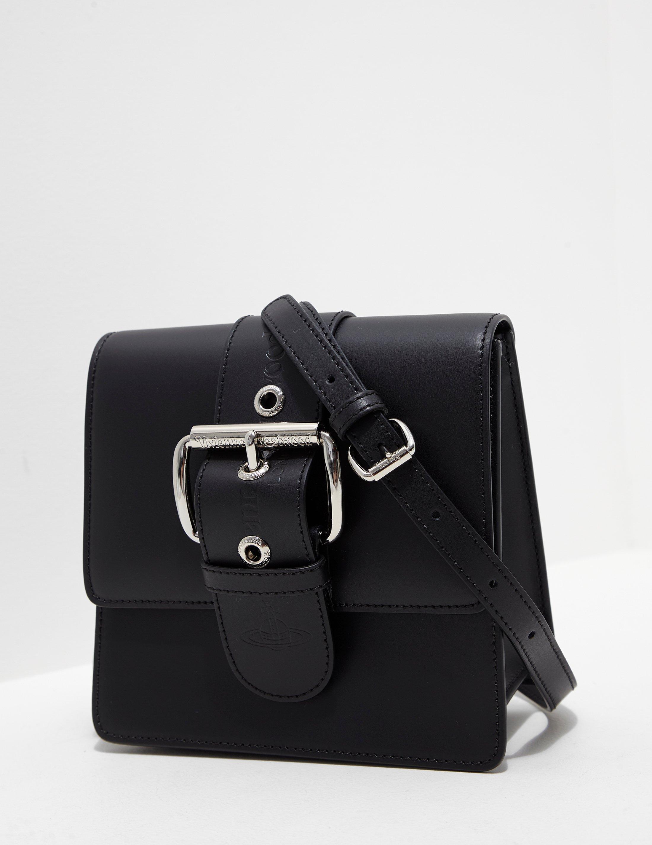 ca0eb8d330a5 Lyst - Vivienne Westwood Alex Small Crossbody Bag Black in Black ...