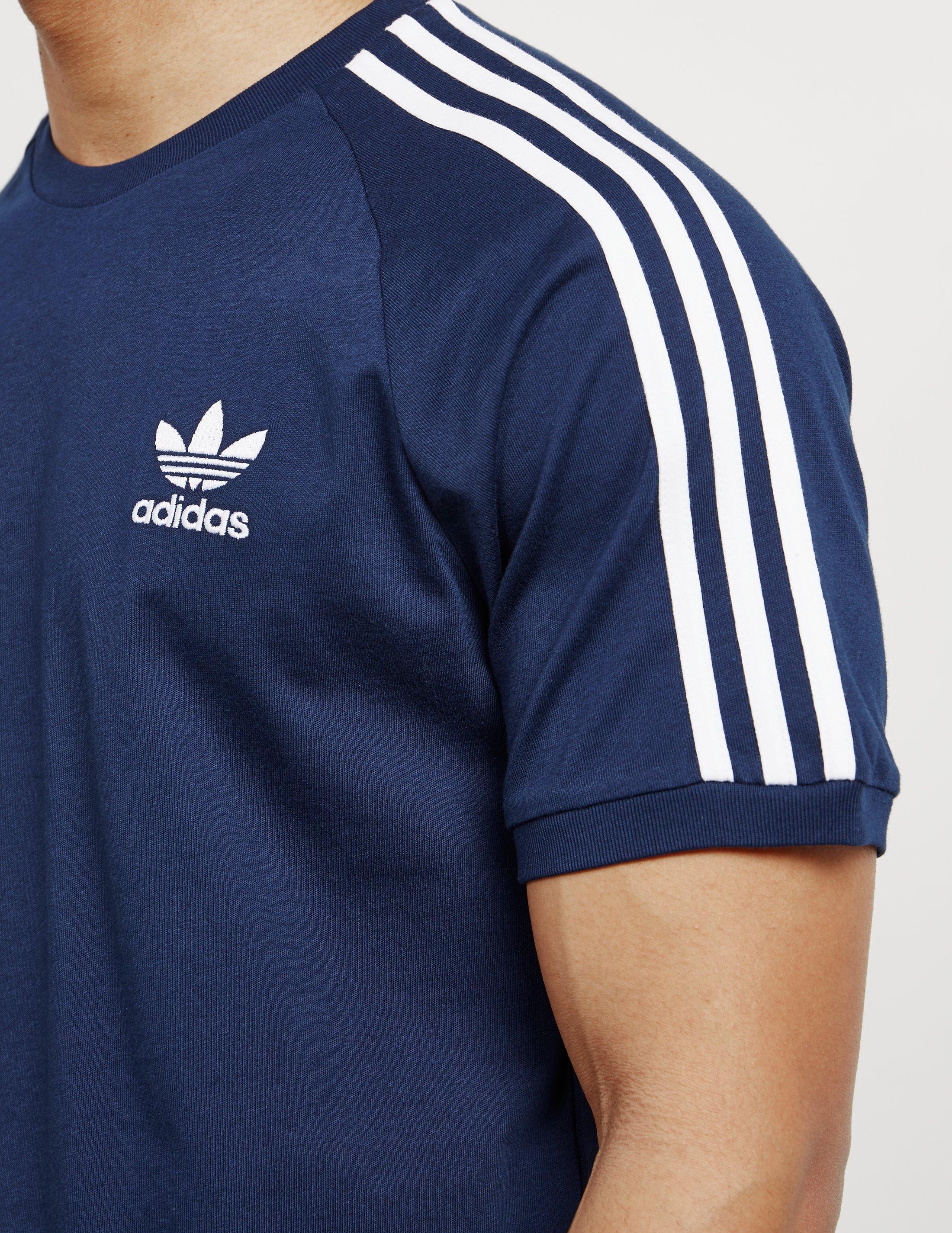 adidas shirt navy blue
