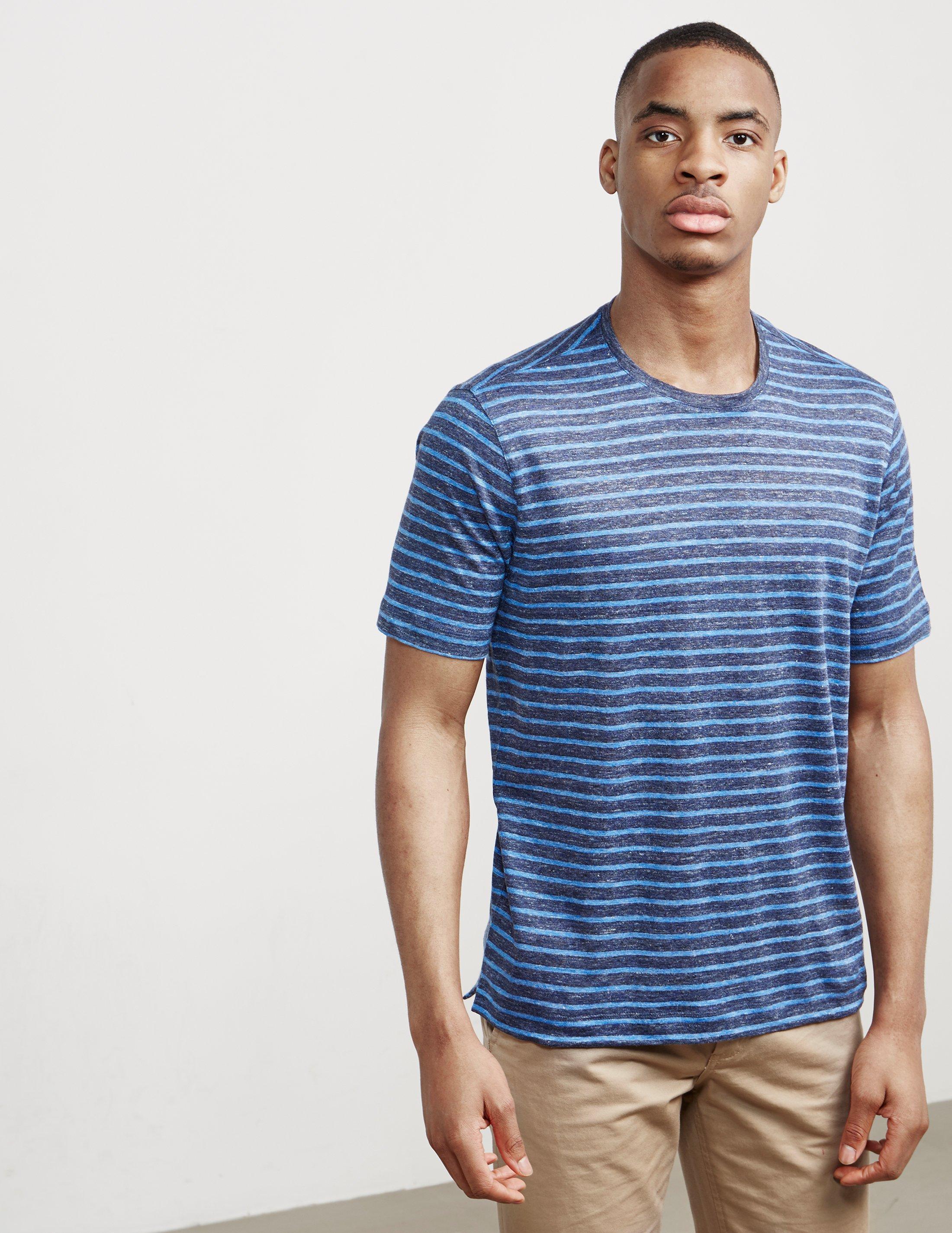 Clearance Cheap Marketable short-sleeve T-shirt - Blue Ermenegildo Zegna Clearance Official Free Shipping Nicekicks v6JJG8tDHj
