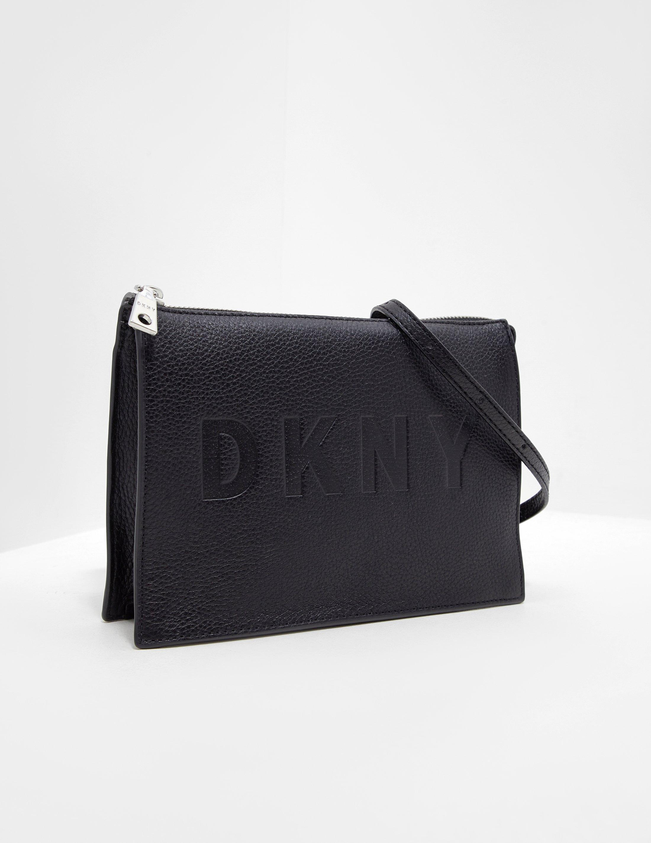 ed9621807c Lyst - DKNY Commuter Shoulder Bag Black in Black
