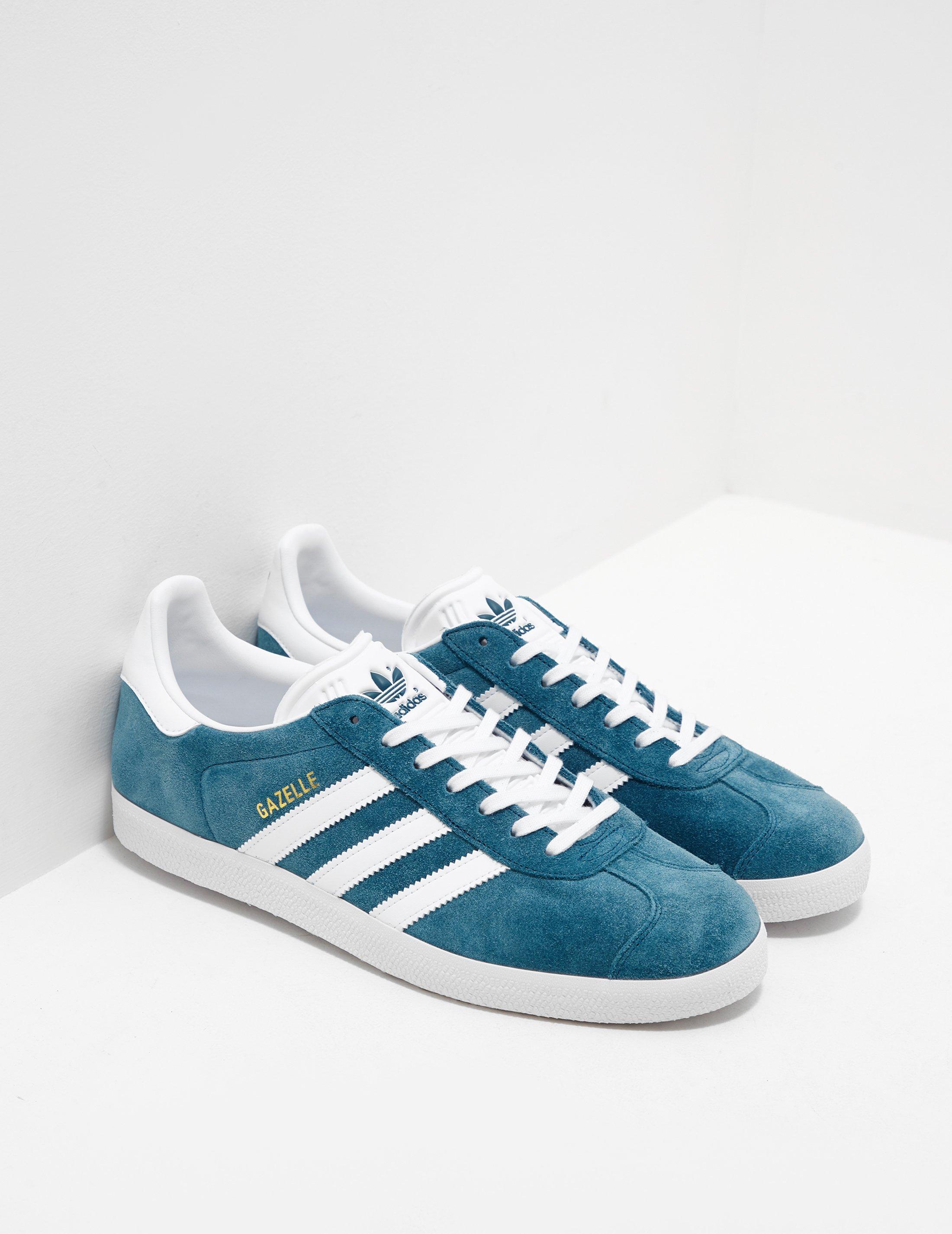 buy online 568b8 1e56f adidas Originals. Blue Mens Gazelle ...