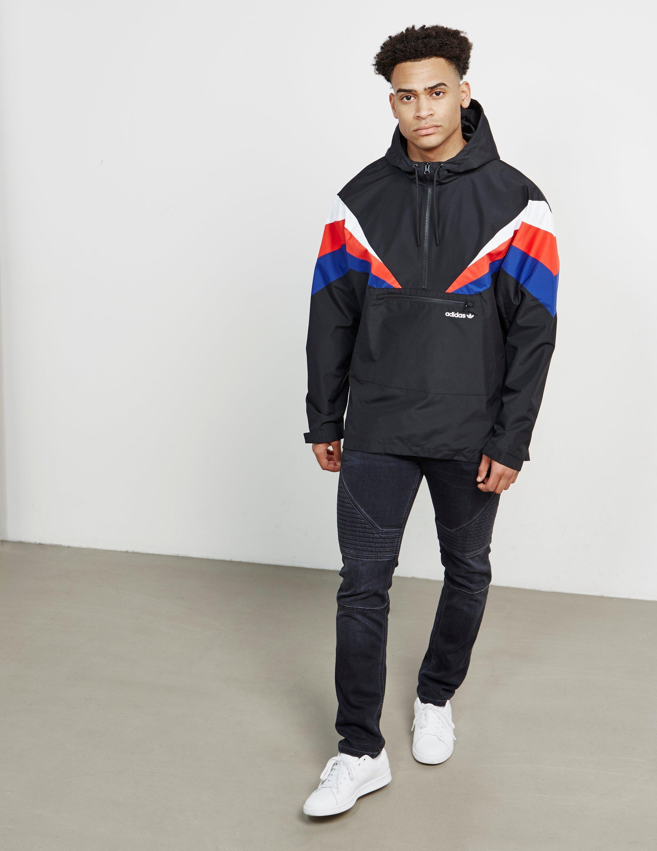 adidas original hoodie men black red whte