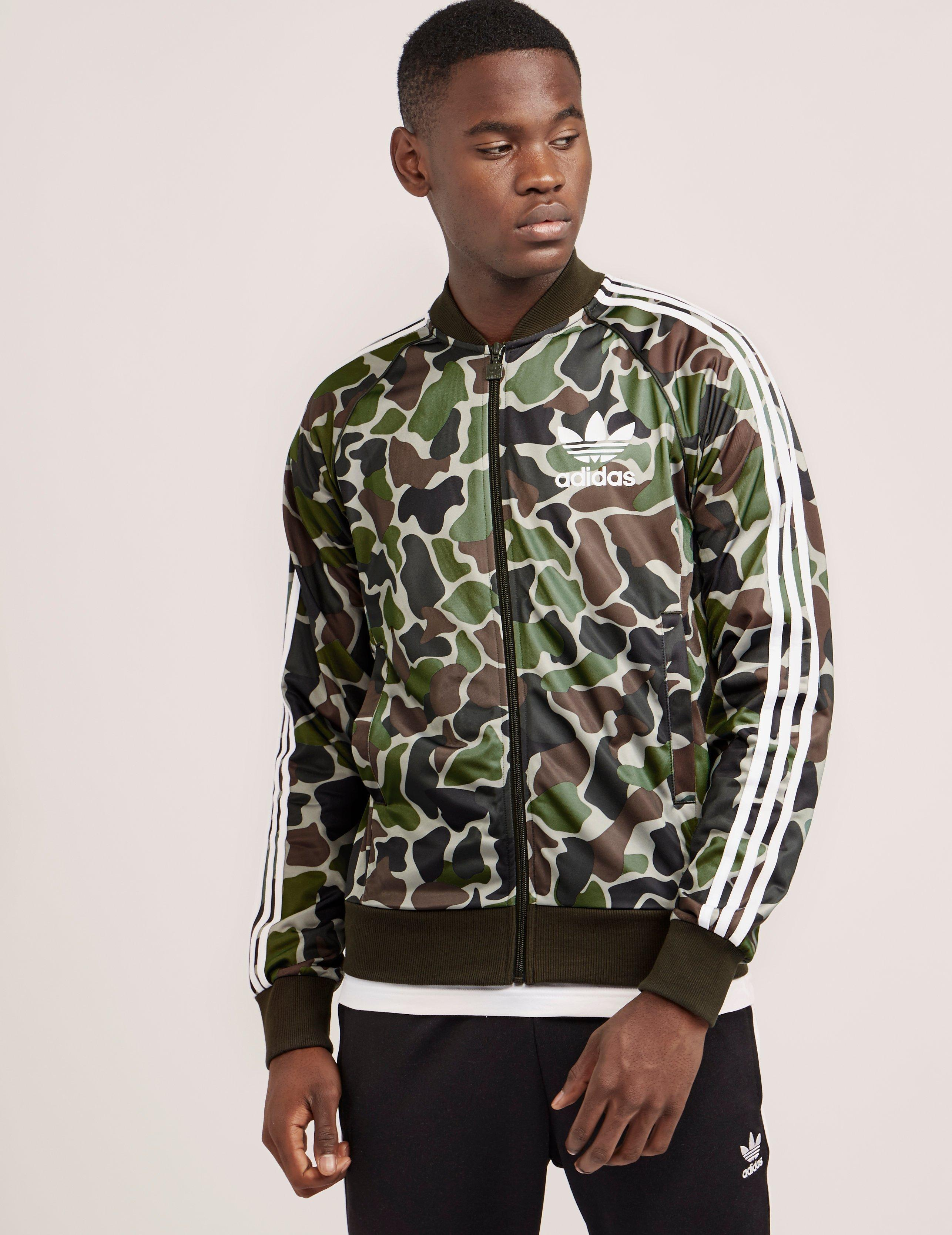 Originals Camouflage track jacket Black