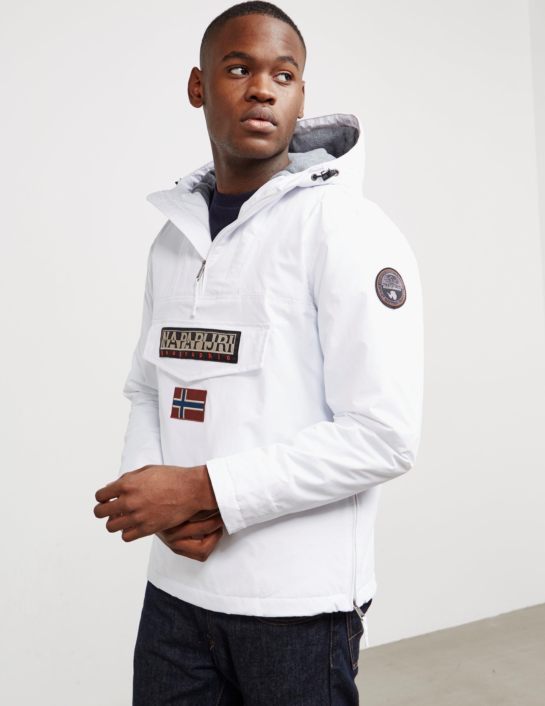feb61dc6fd64 Napapijri Rainforest Summer Jacket in White for Men - Save 55% - Lyst