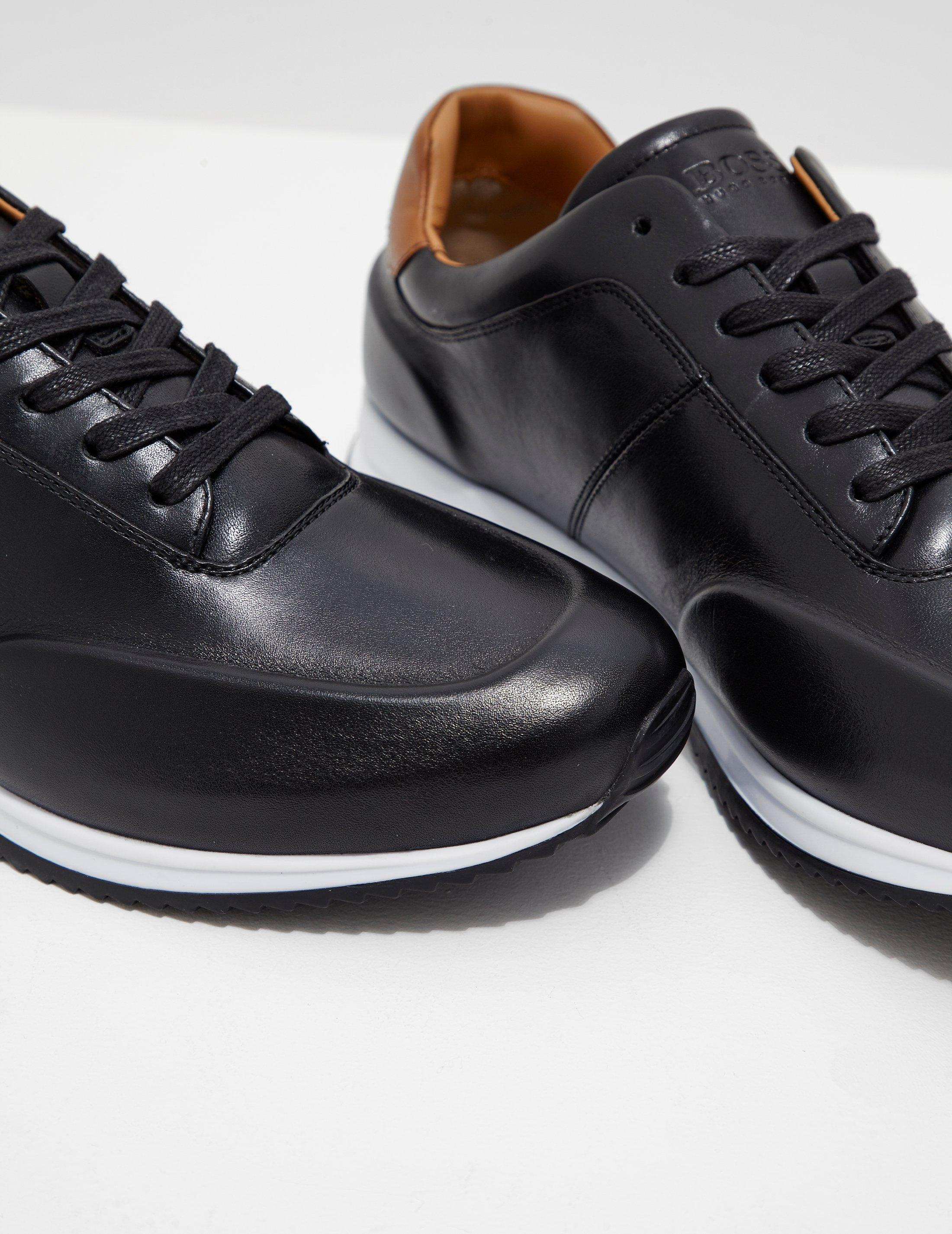 Hugo Boss Leather Mens Legacy Trainers