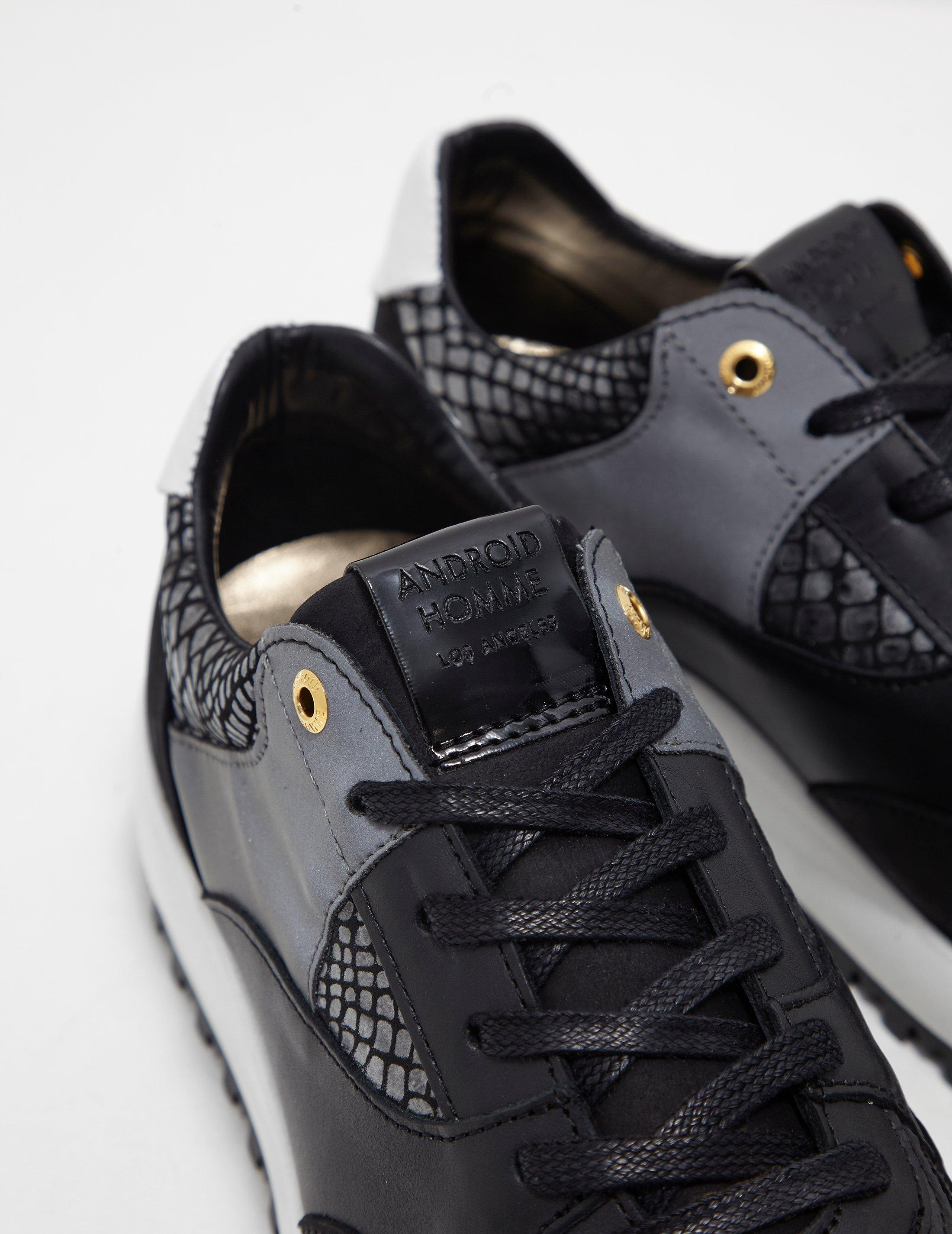 Android Homme Leather Belter Runner
