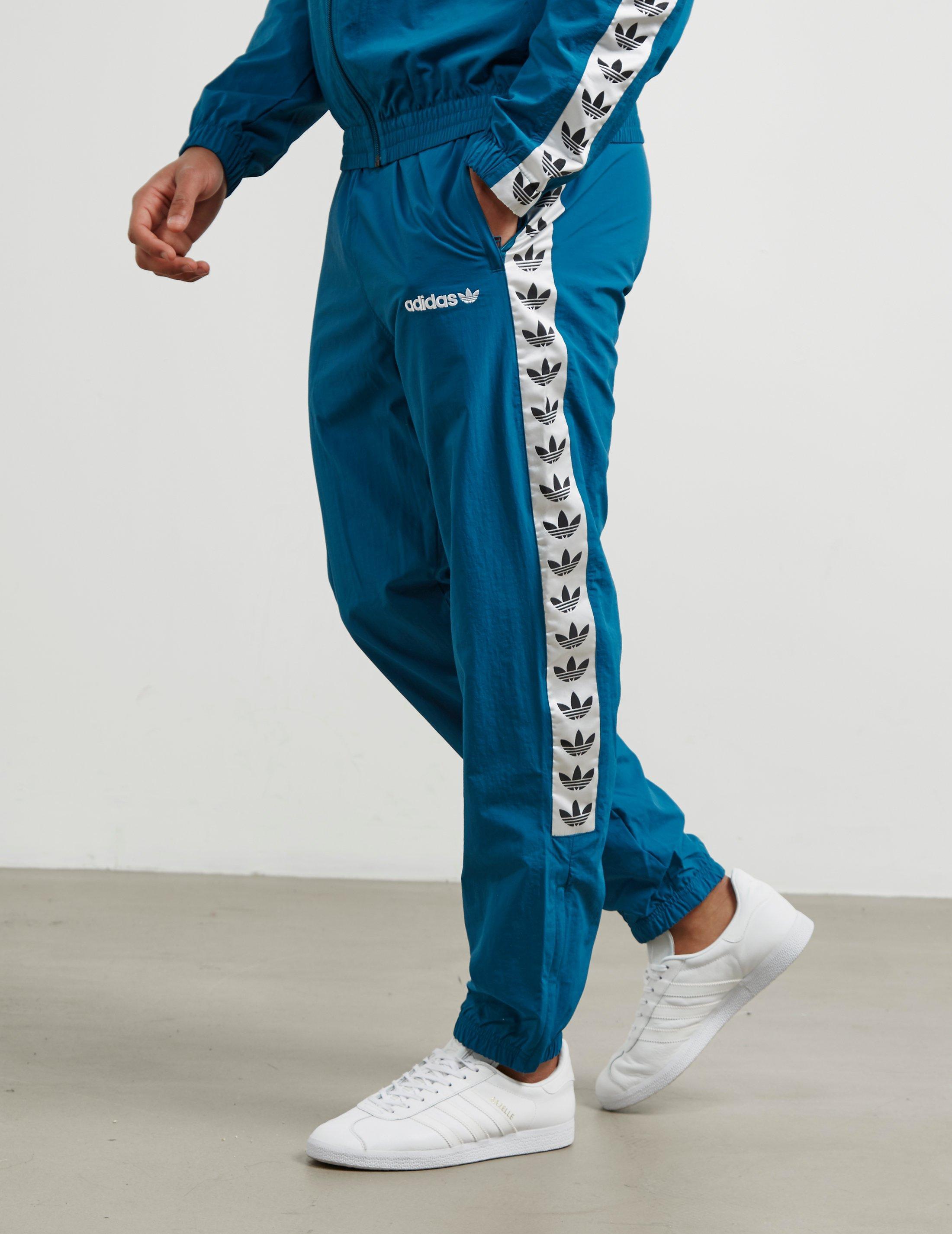 ADIDAS ORIGINALS MEN'S ORIGINALS ID96 TRACK PANTS, BLUE
