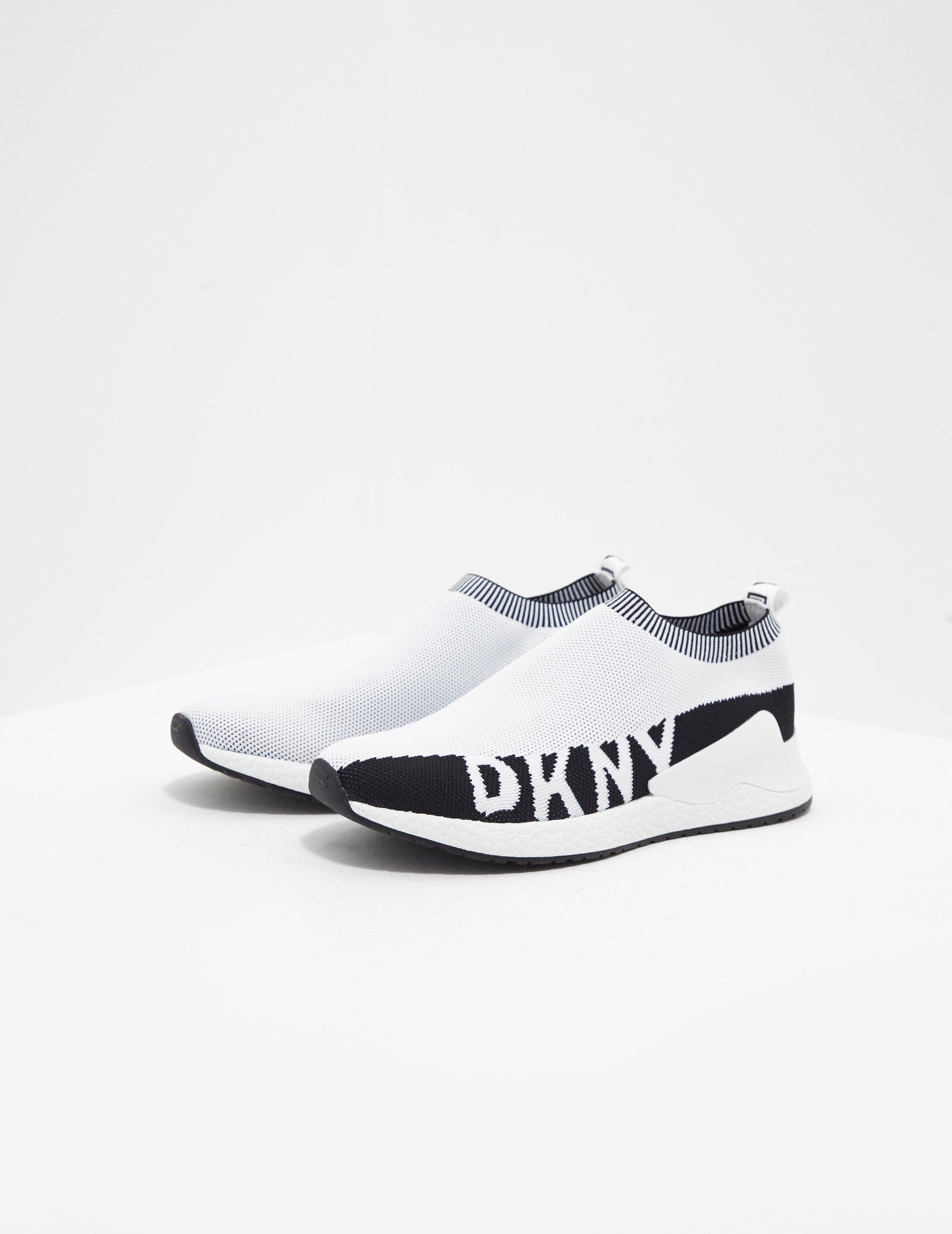 DKNY Rini Sock Trainers White - Lyst