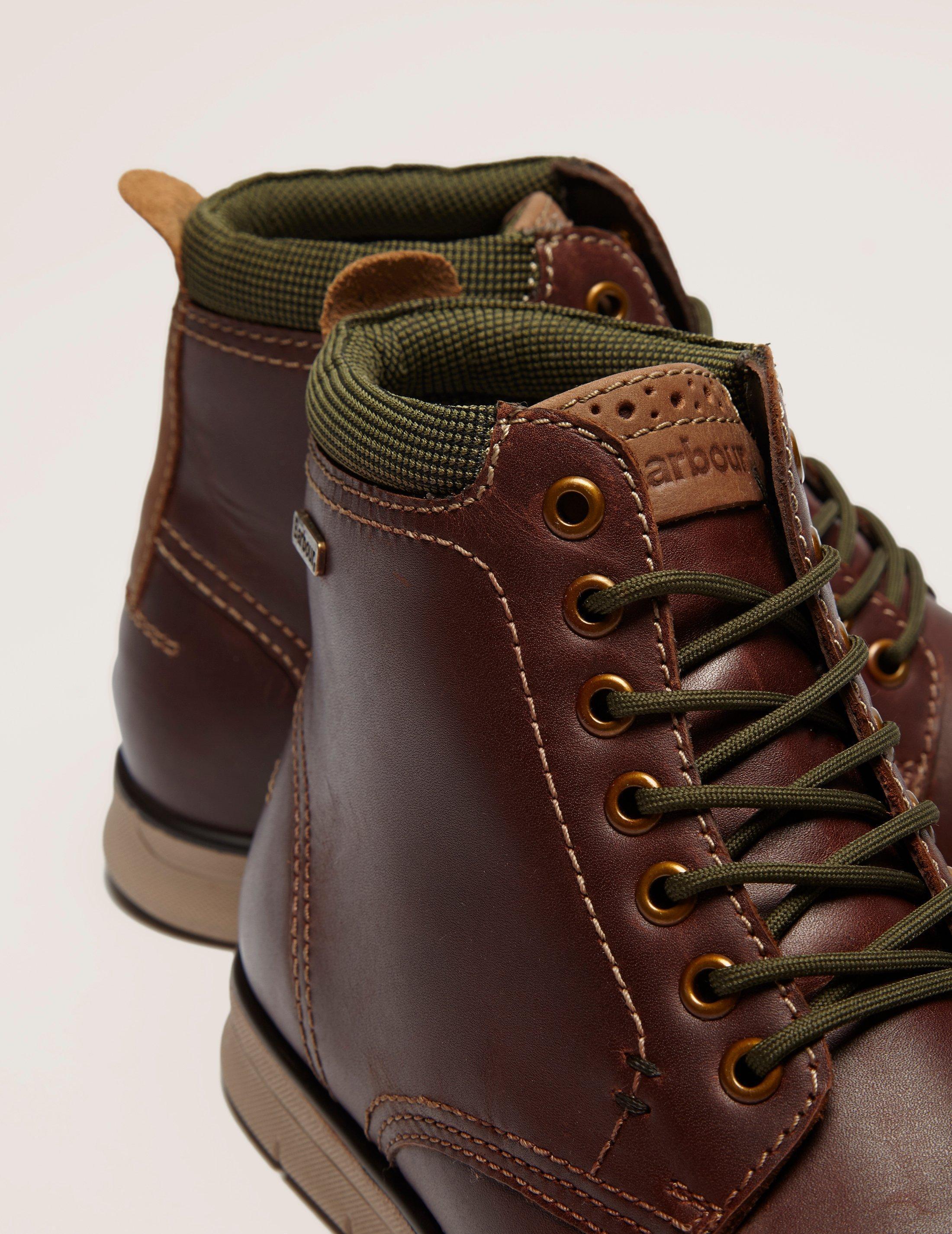 Barbour Burdon Boot In Brown For Men Lyst