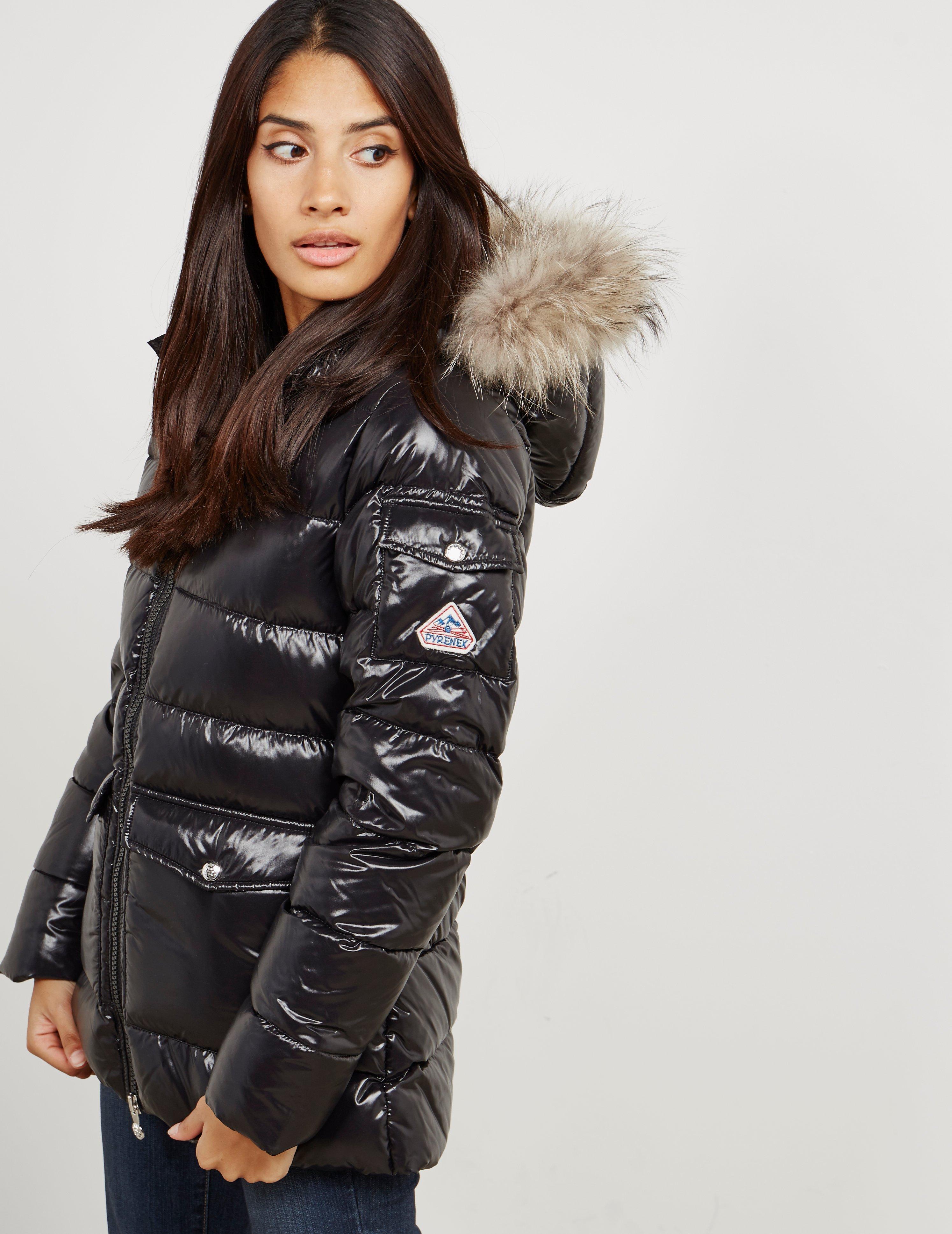 76016c2d2 Pyrenex Womens Authentic Padded Shiny Jacket Black