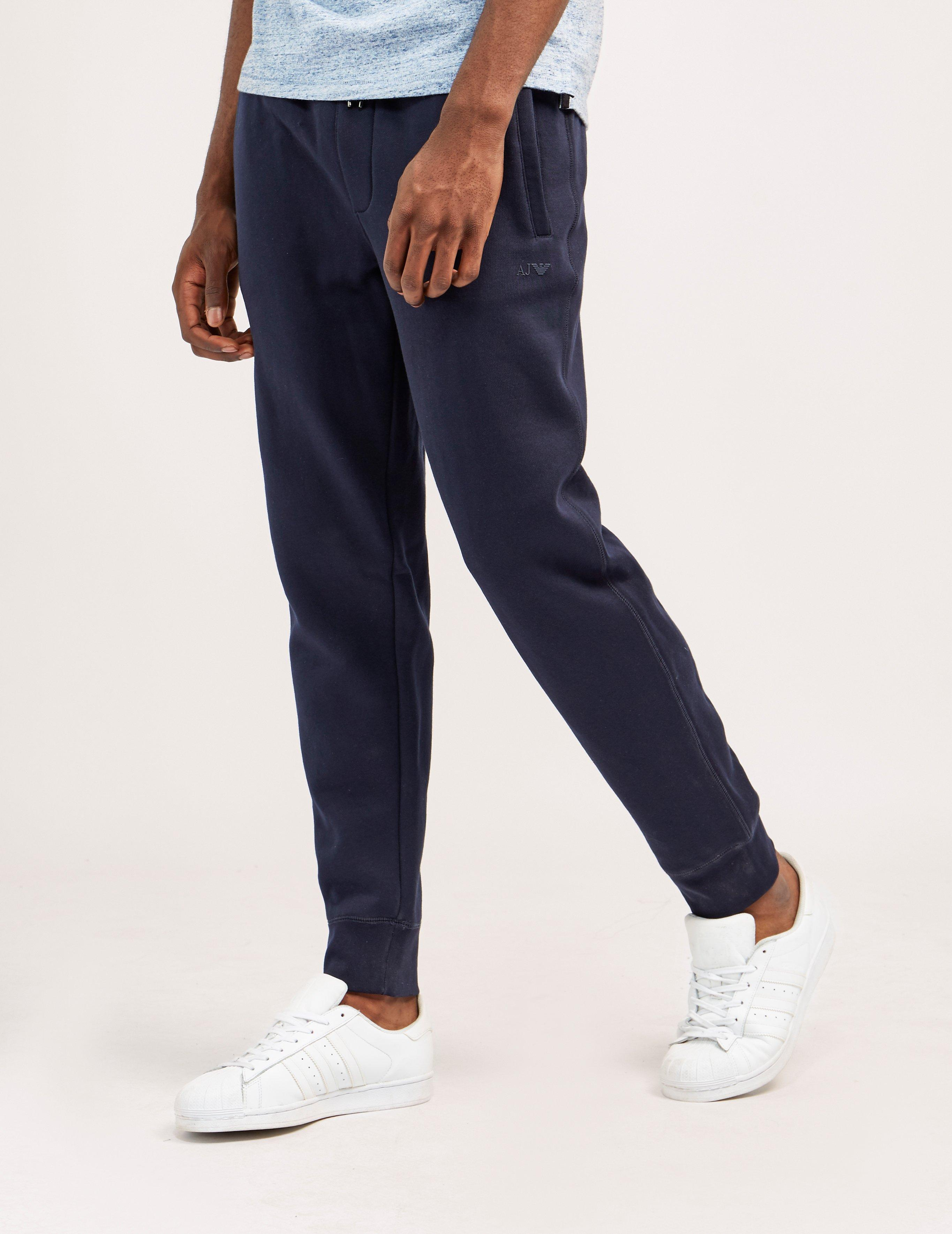 3c632d57 Armani Jeans Mens Cuffed Track Pants Navy Blue for men