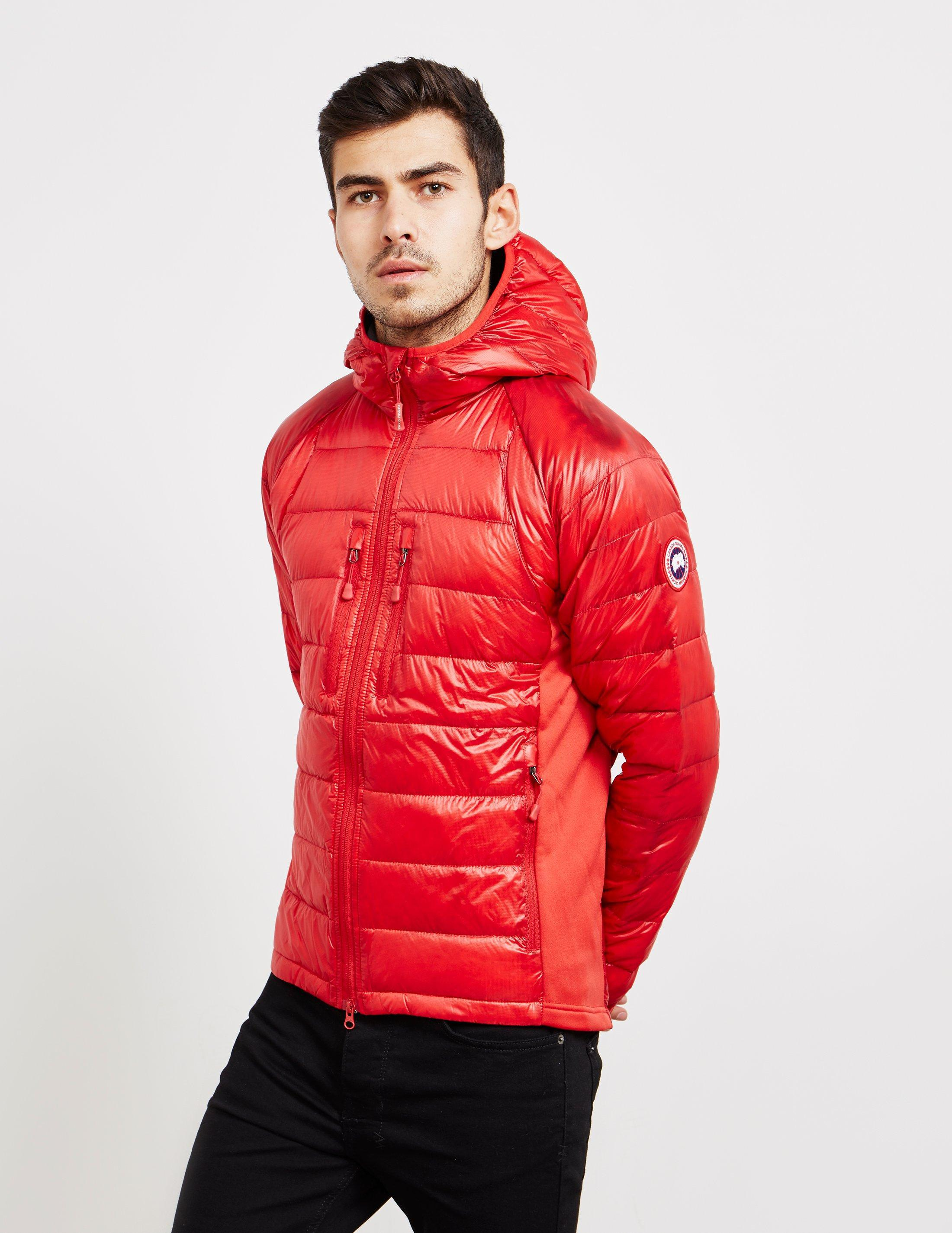 e0b988b94 Canada Goose Goose Mens Hybridge Lightweight Jacket Red for Men - Lyst