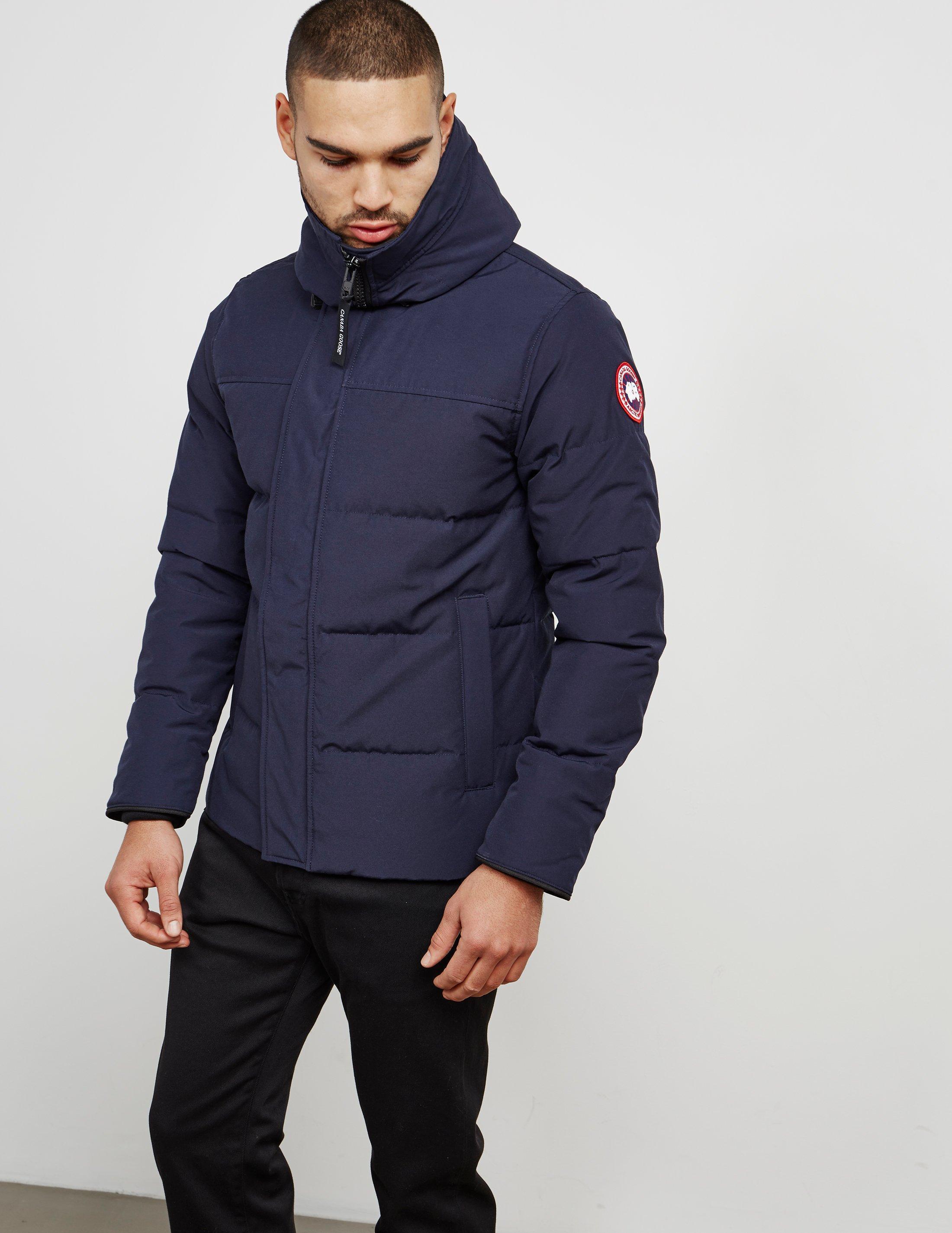 d01bb2357c3 Canada Goose Macmillan Padded Parka Jacket Blue for Men - Lyst