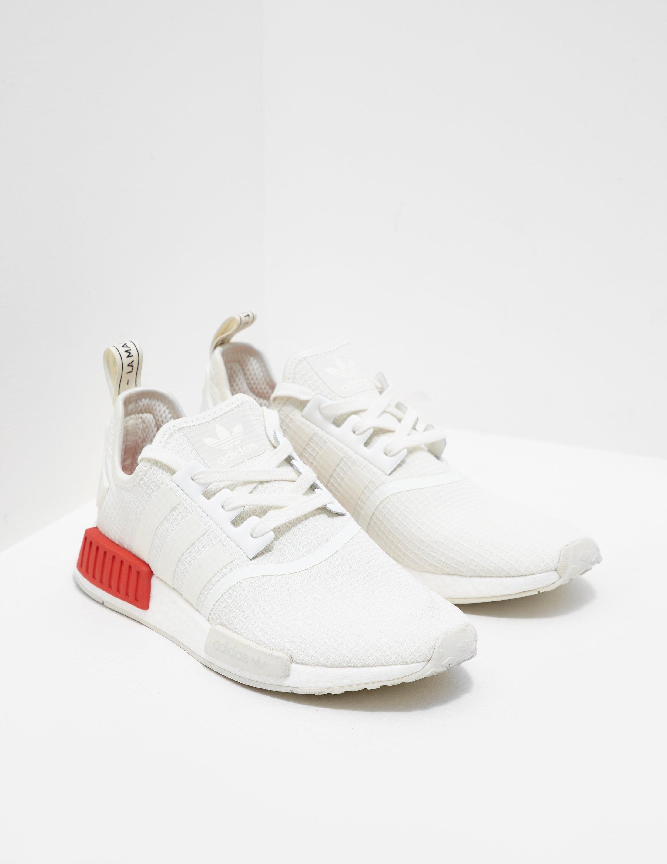7903ba5bc34378 Lyst - adidas Originals Nmd R1 Ripstop White in White for Men