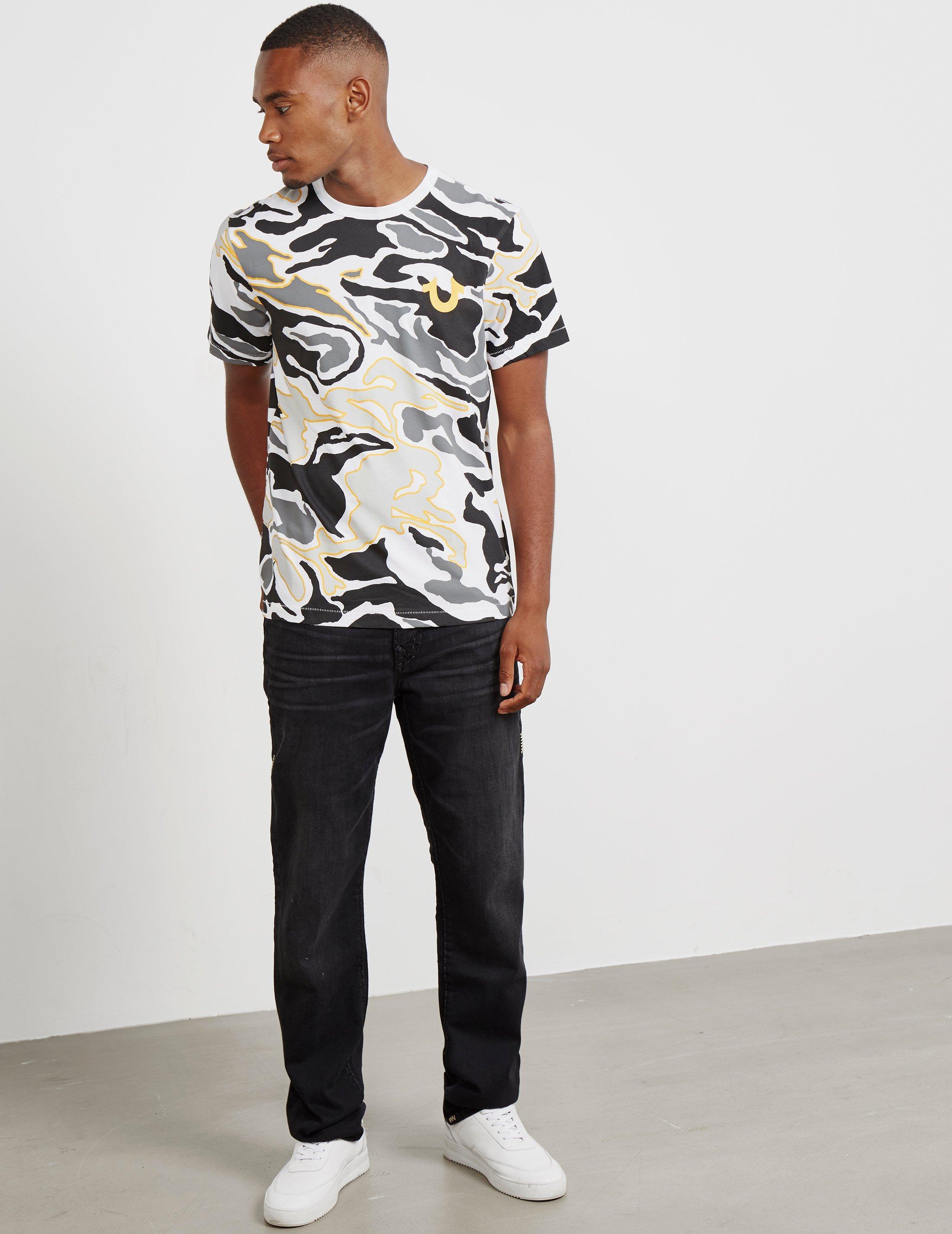 03bdc7b53 Lyst - True Religion Geno Straight Jeans Black in Black for Men - Save 14%