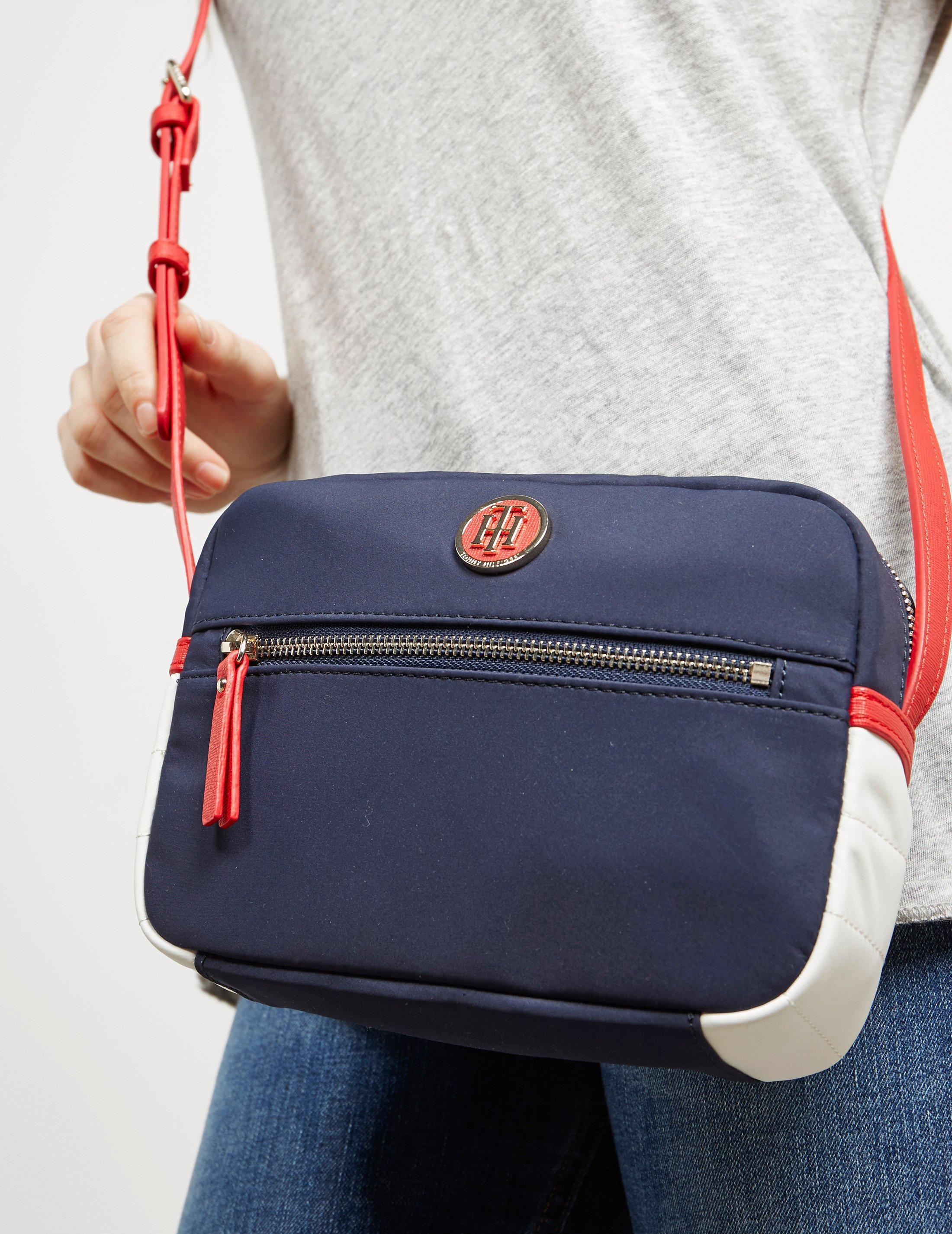 2dd2b6c0 Tommy Hilfiger Womens Nylon Crossbody Bag Navy Blue in Blue - Lyst