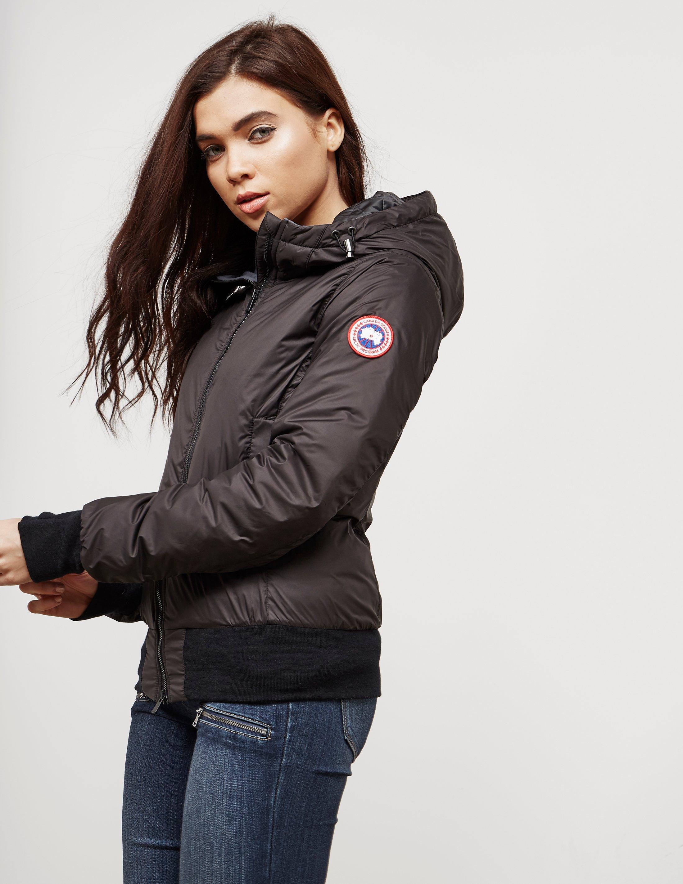 Canada Goose. Womens Dore Lightweight Padded Jacket Black