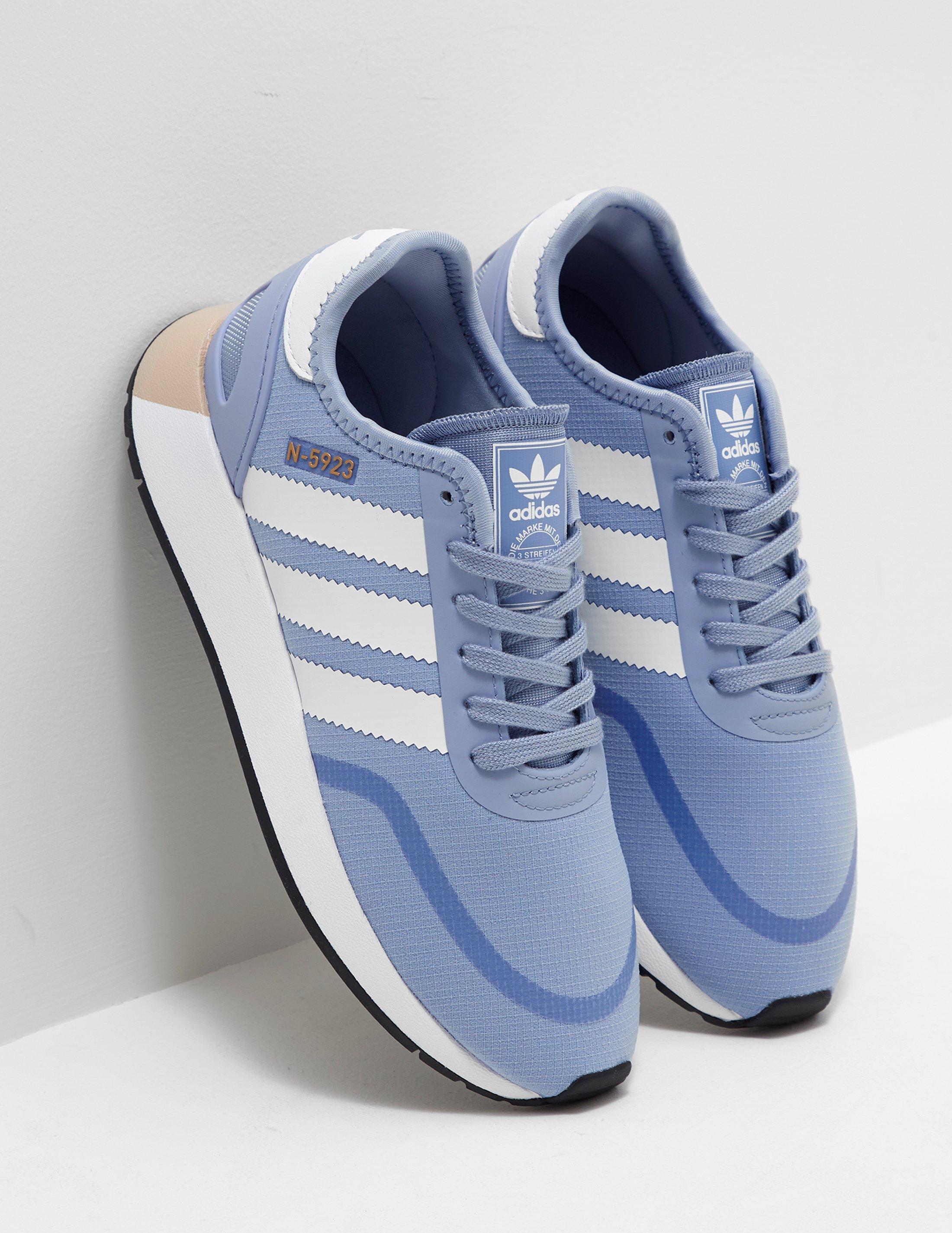 lyst adidas originals frauen n 5923 frauen ist blau in blau