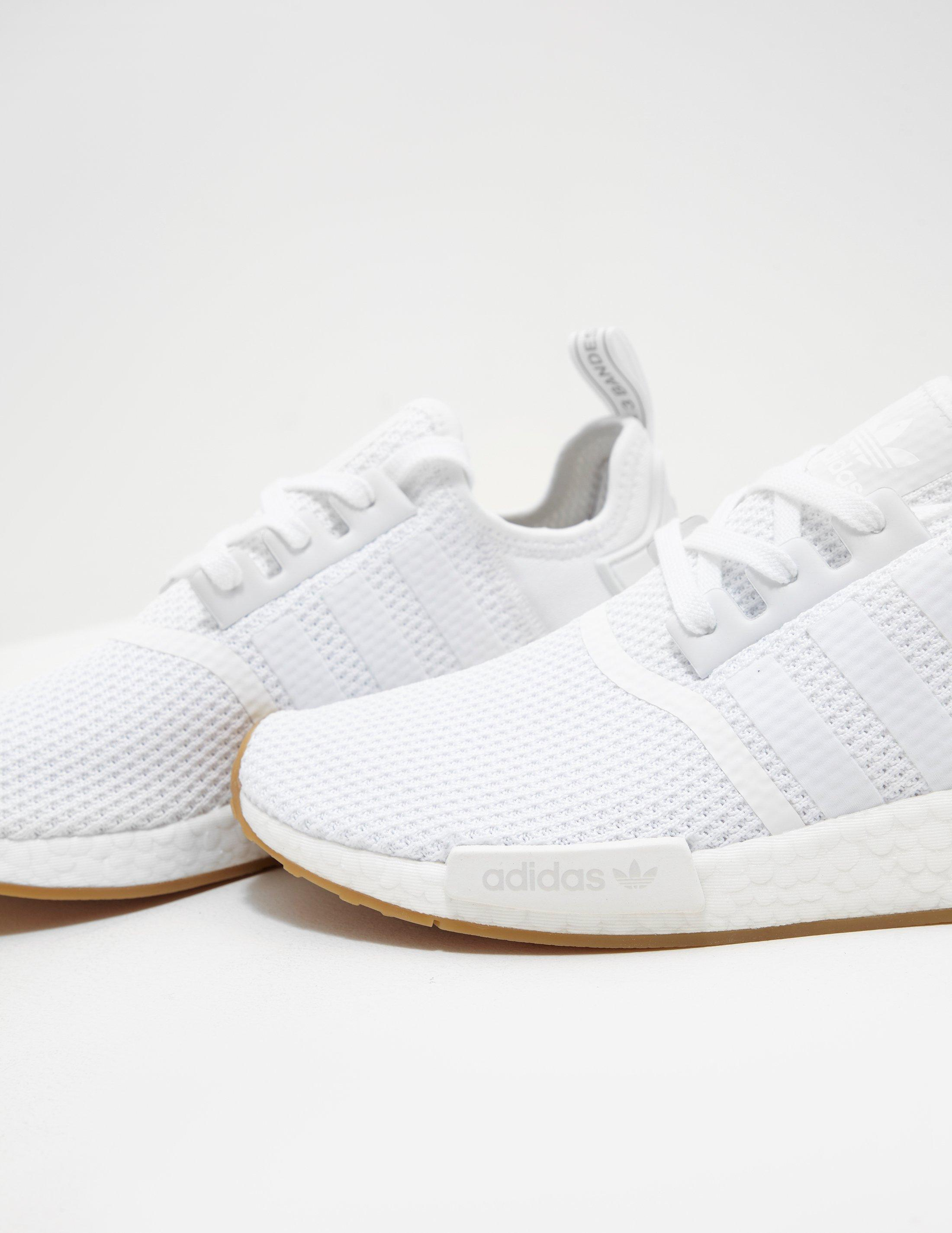 adidas nmd r1 mens white