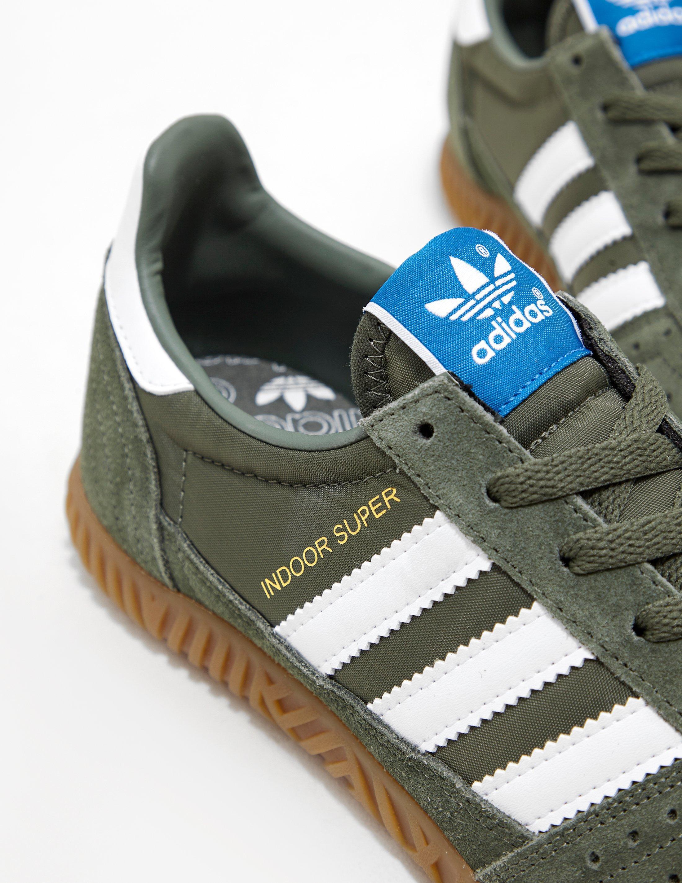 Lyst - adidas Originals Mens Indoor Super Green in Green for Men f6dc2ef58