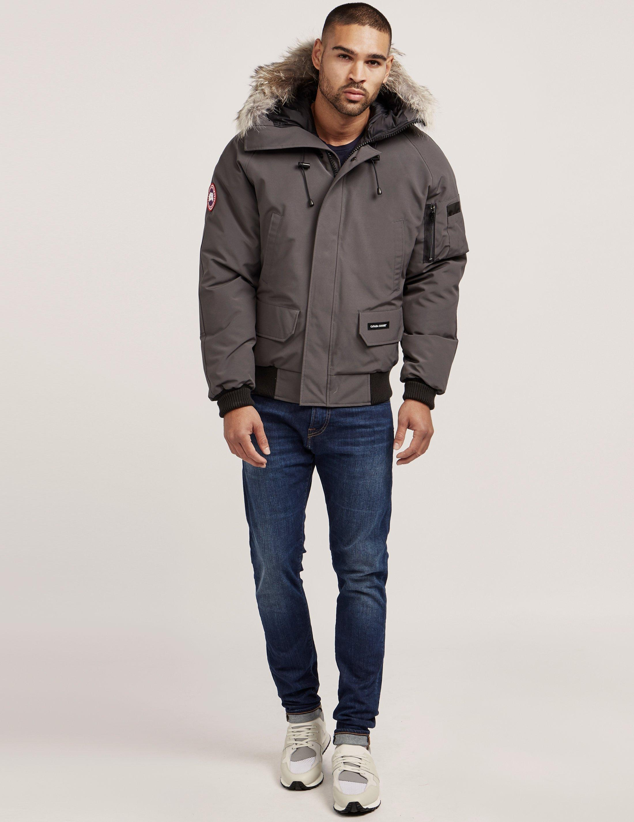 Lyst - Canada Goose Mens Chilliwack Padded Bomber Jacket Grey in Gray for Men - Save 3.597122302158269%