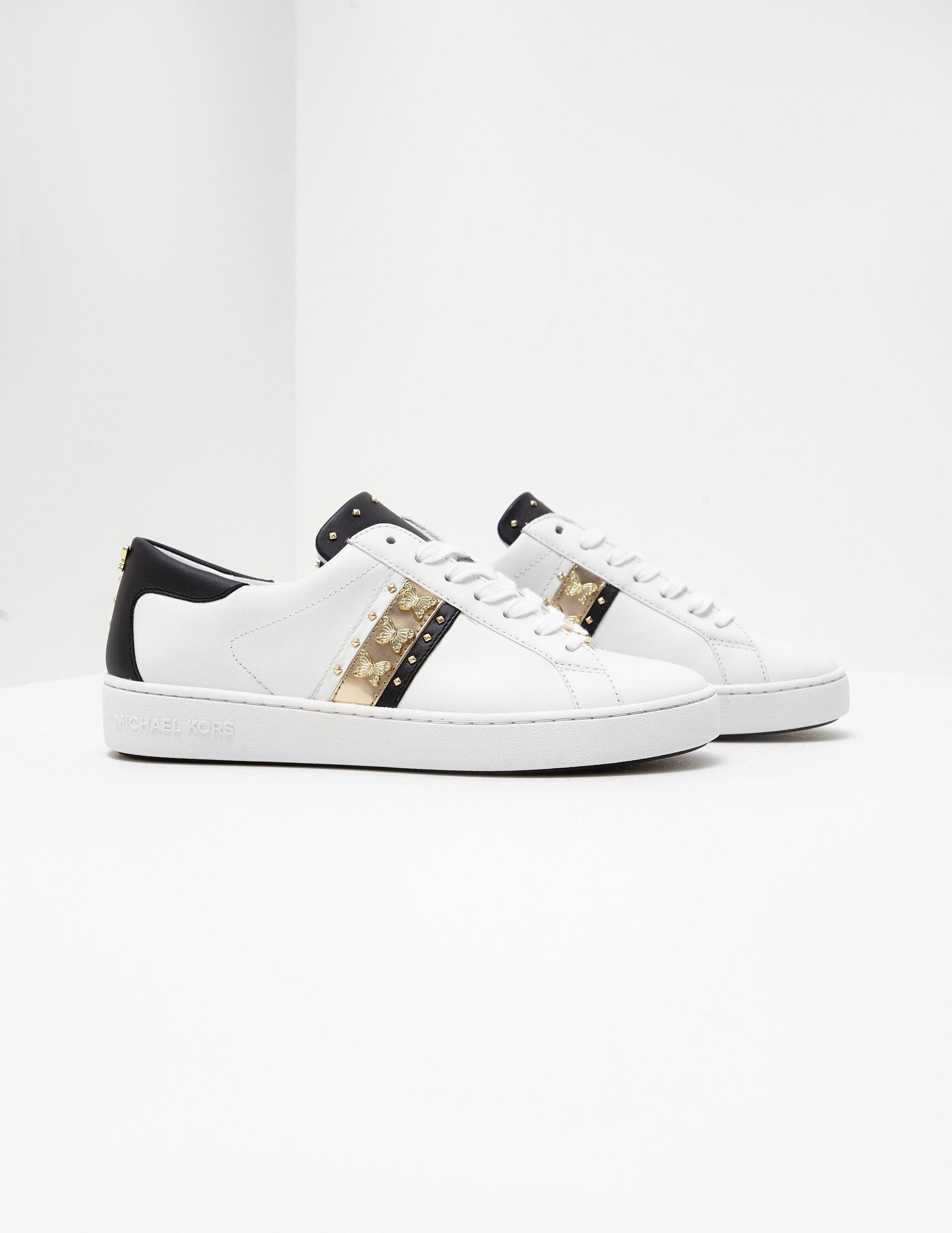 michael kors butterfly trainers