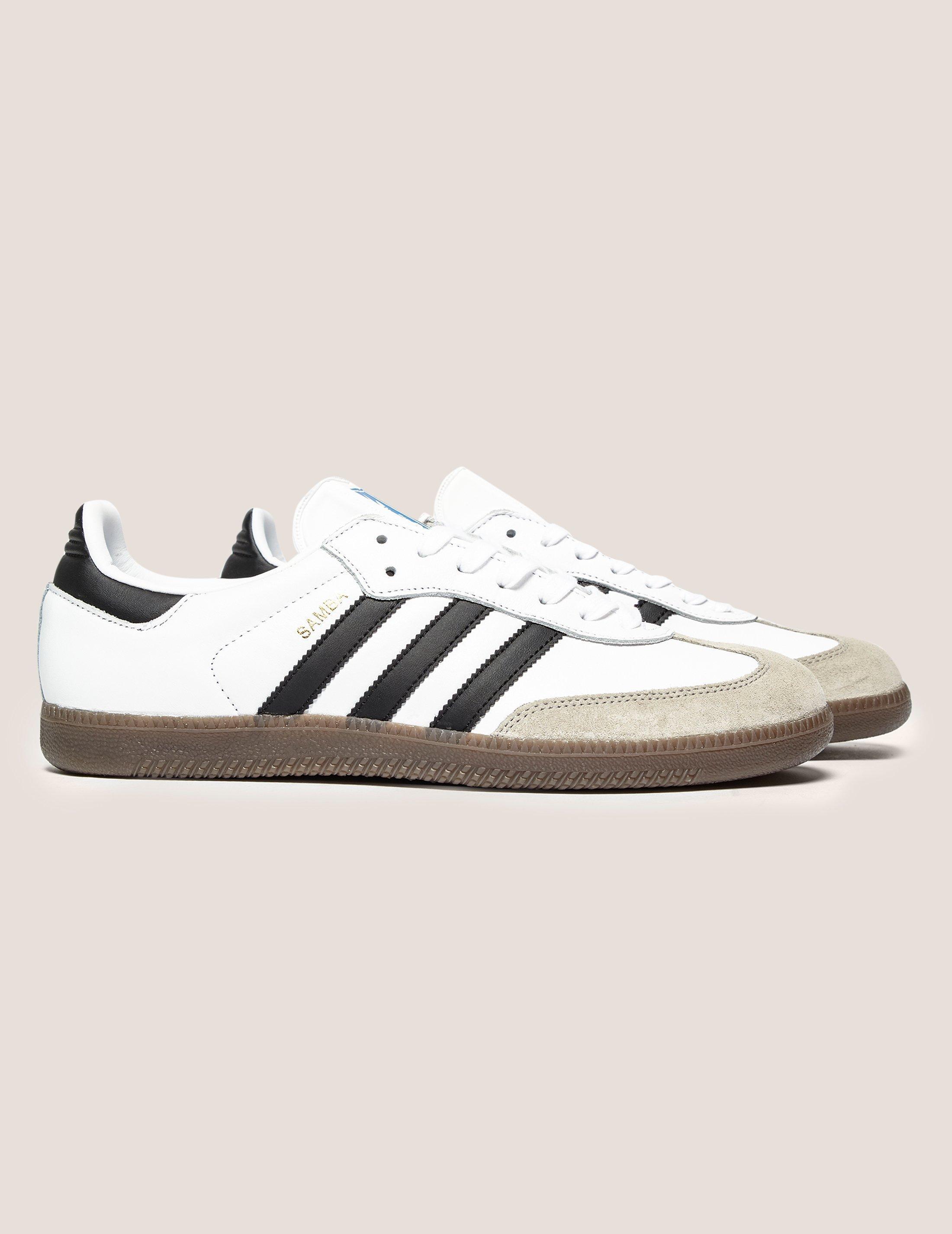 88a5c43bb adidas Originals Mens Samba Og White/black in White for Men - Lyst