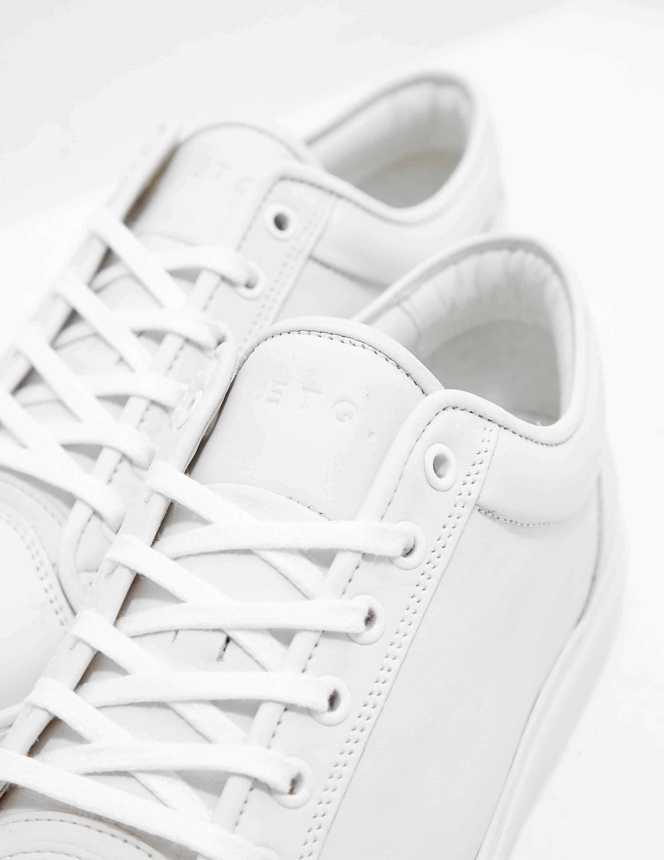 ETQ Amsterdam Leather Low Top Trainers