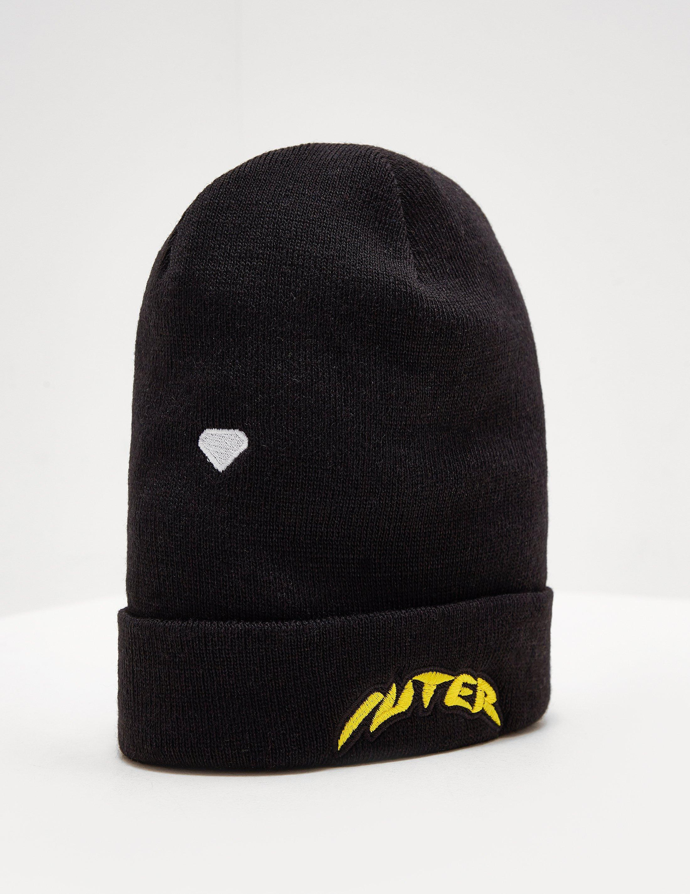 c89d6d0c23d Lyst - Iuter Mens Logo Beanie Black in Black for Men
