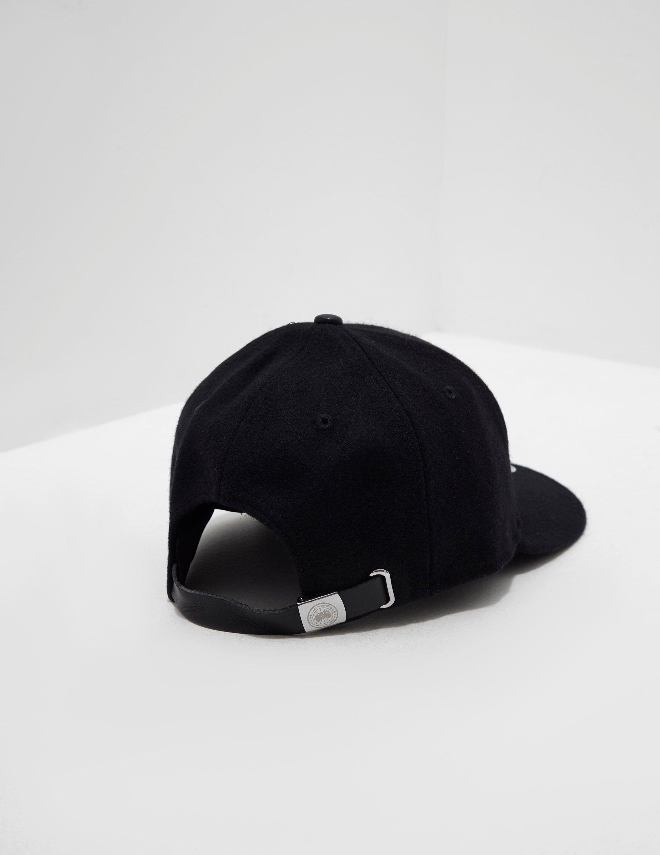 84993e9dab4 Canada Goose Wool Cap Black in Black for Men - Lyst